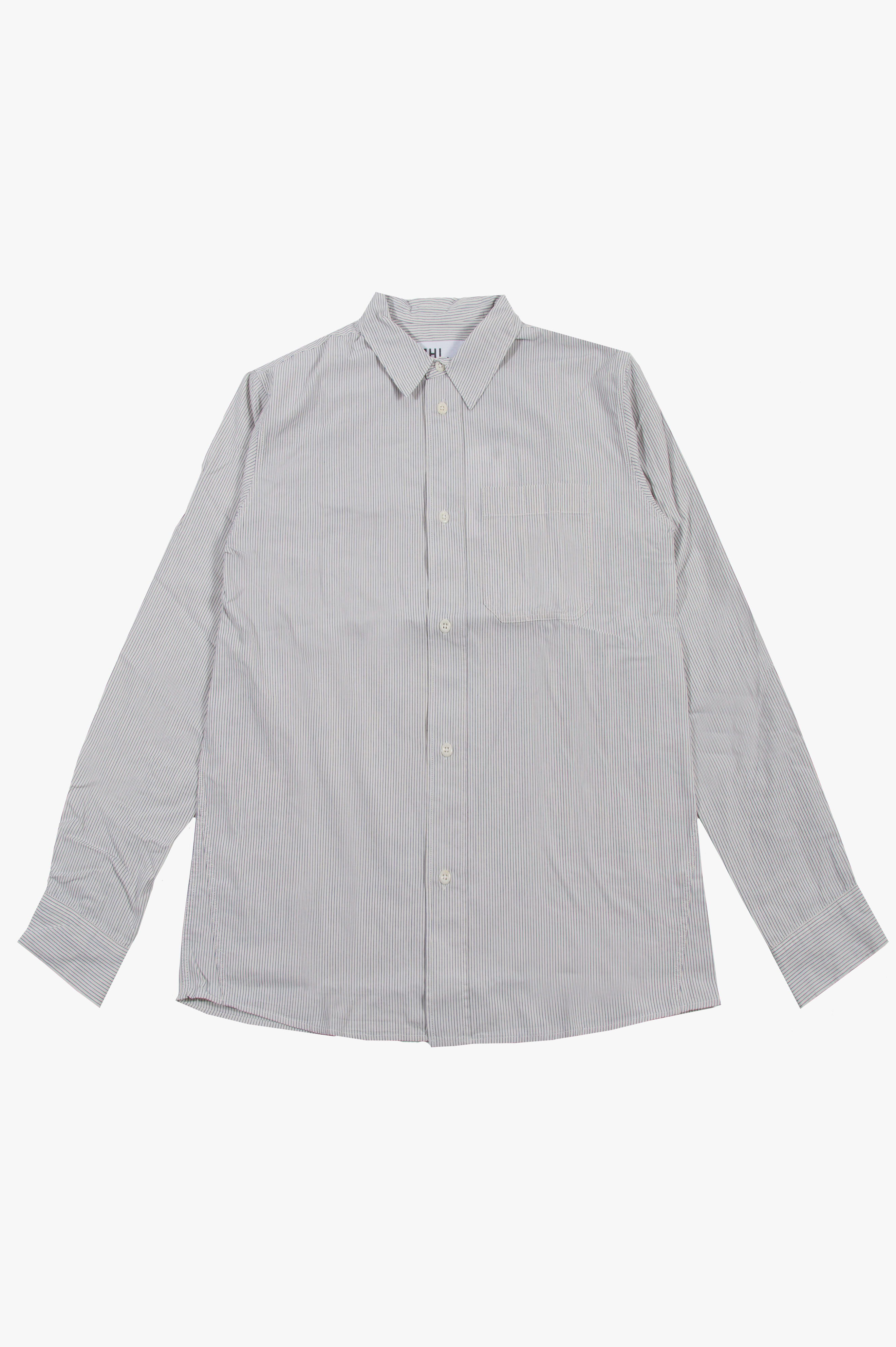 Painters Shirt Ecru/Blue