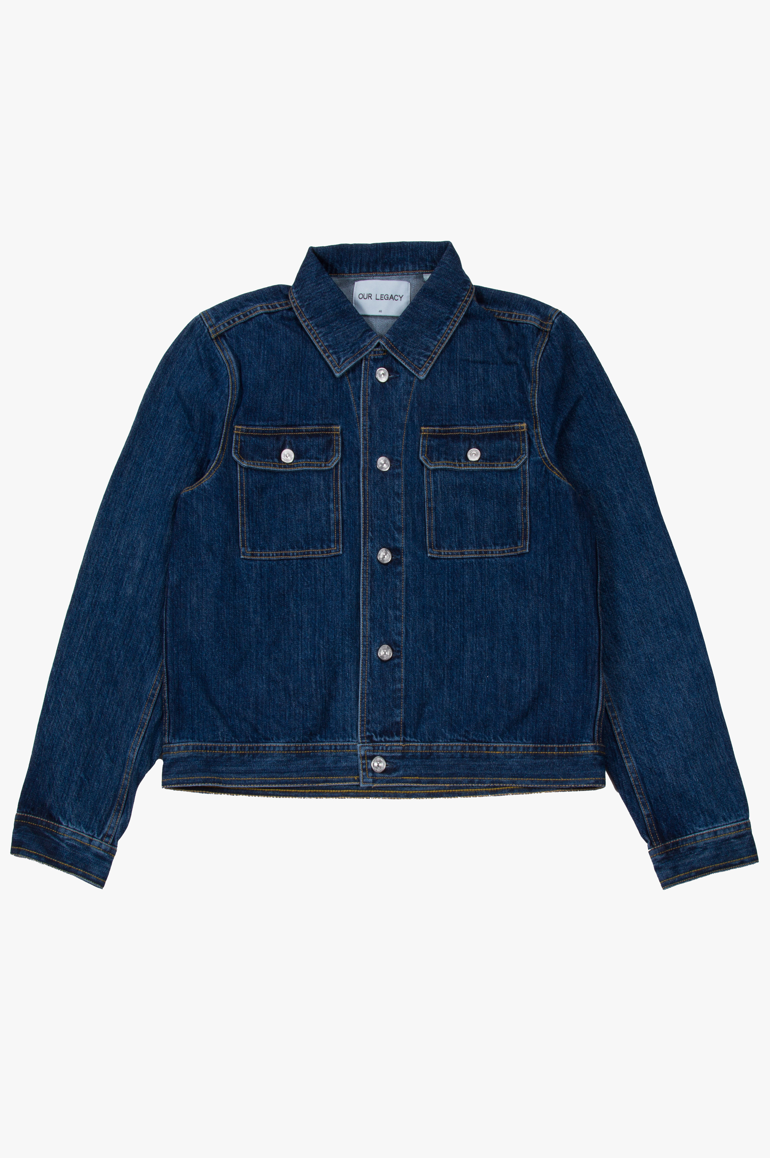 Mono Jacket Denim Broken Wash