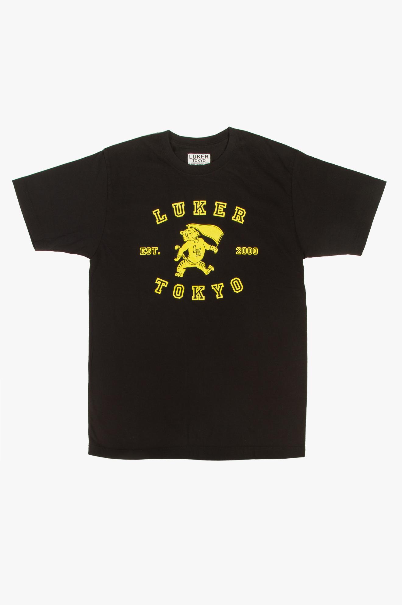 College T-Shirt Black