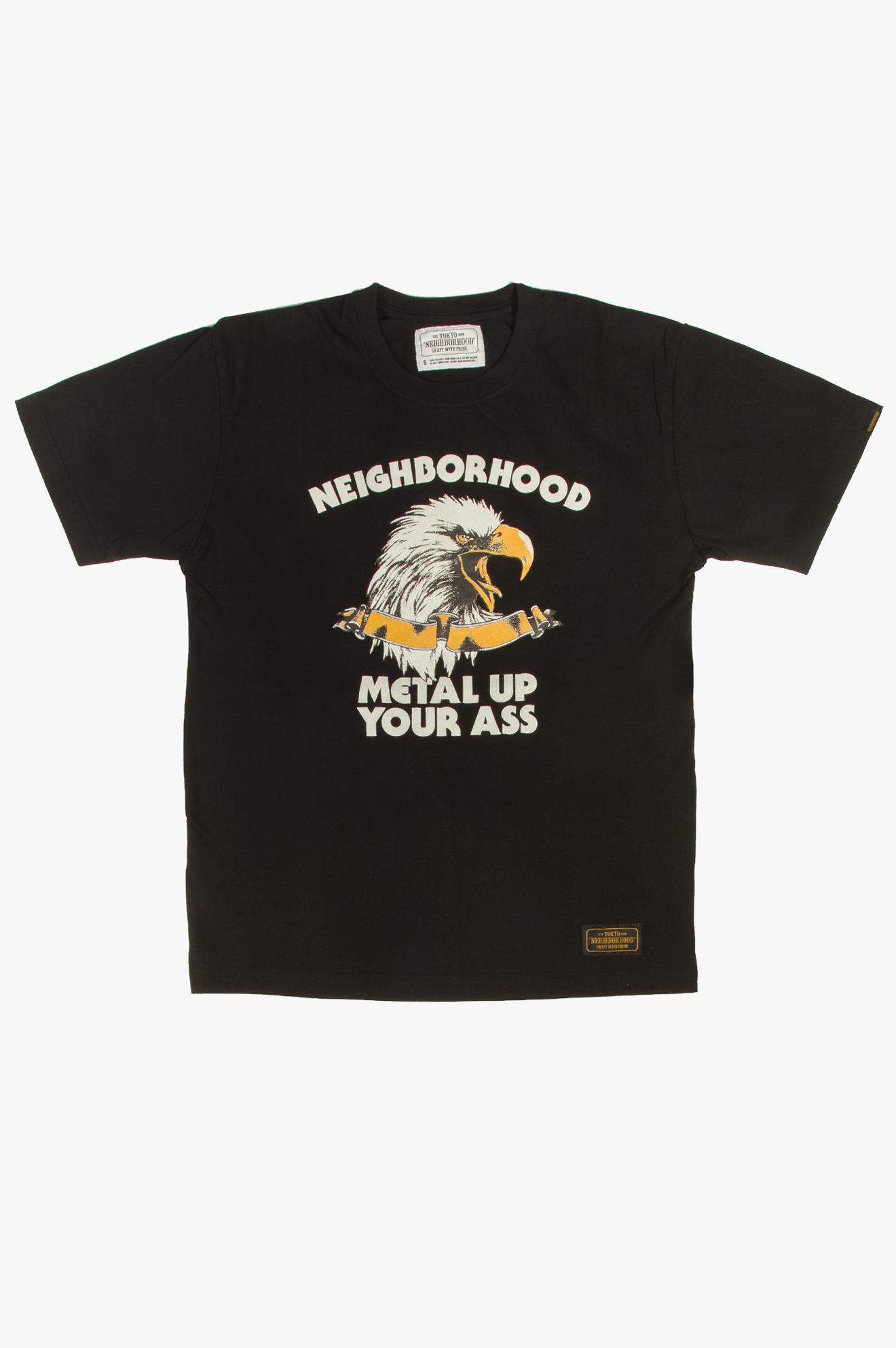 Metal Up T-Shirt Black