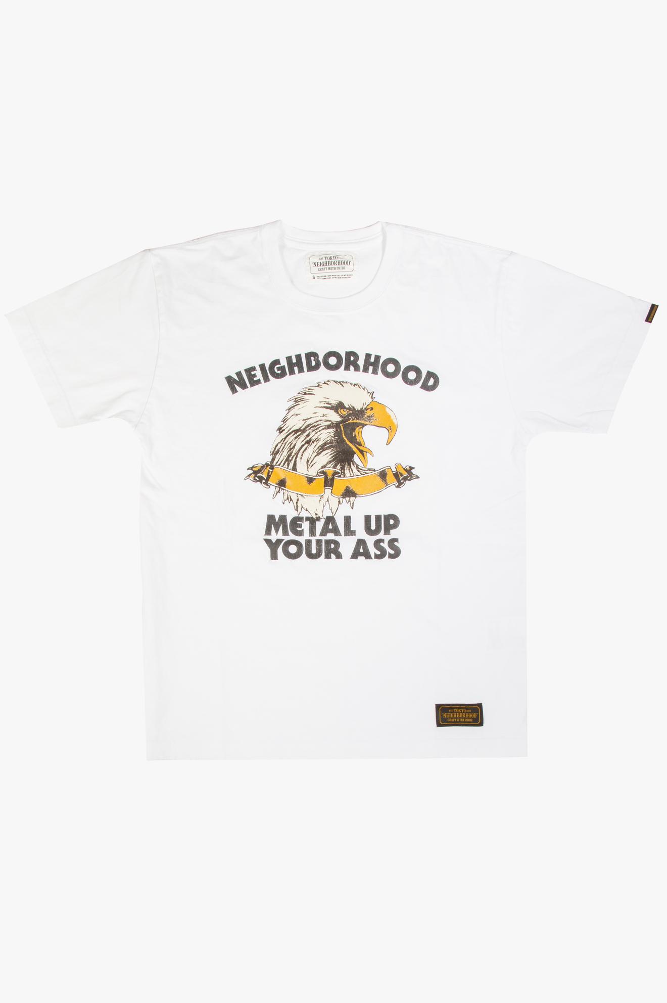 Metal Up T-Shirt White