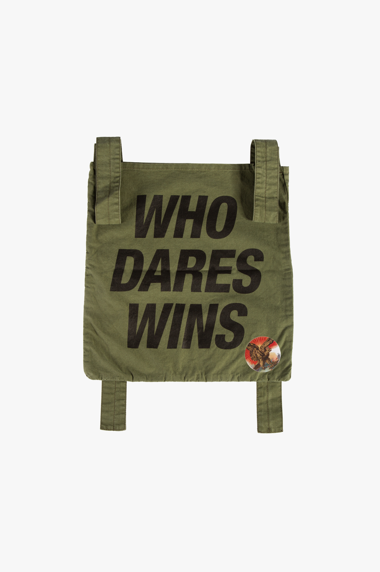 Who Dares Wins Shoulder Bag Olive Drab