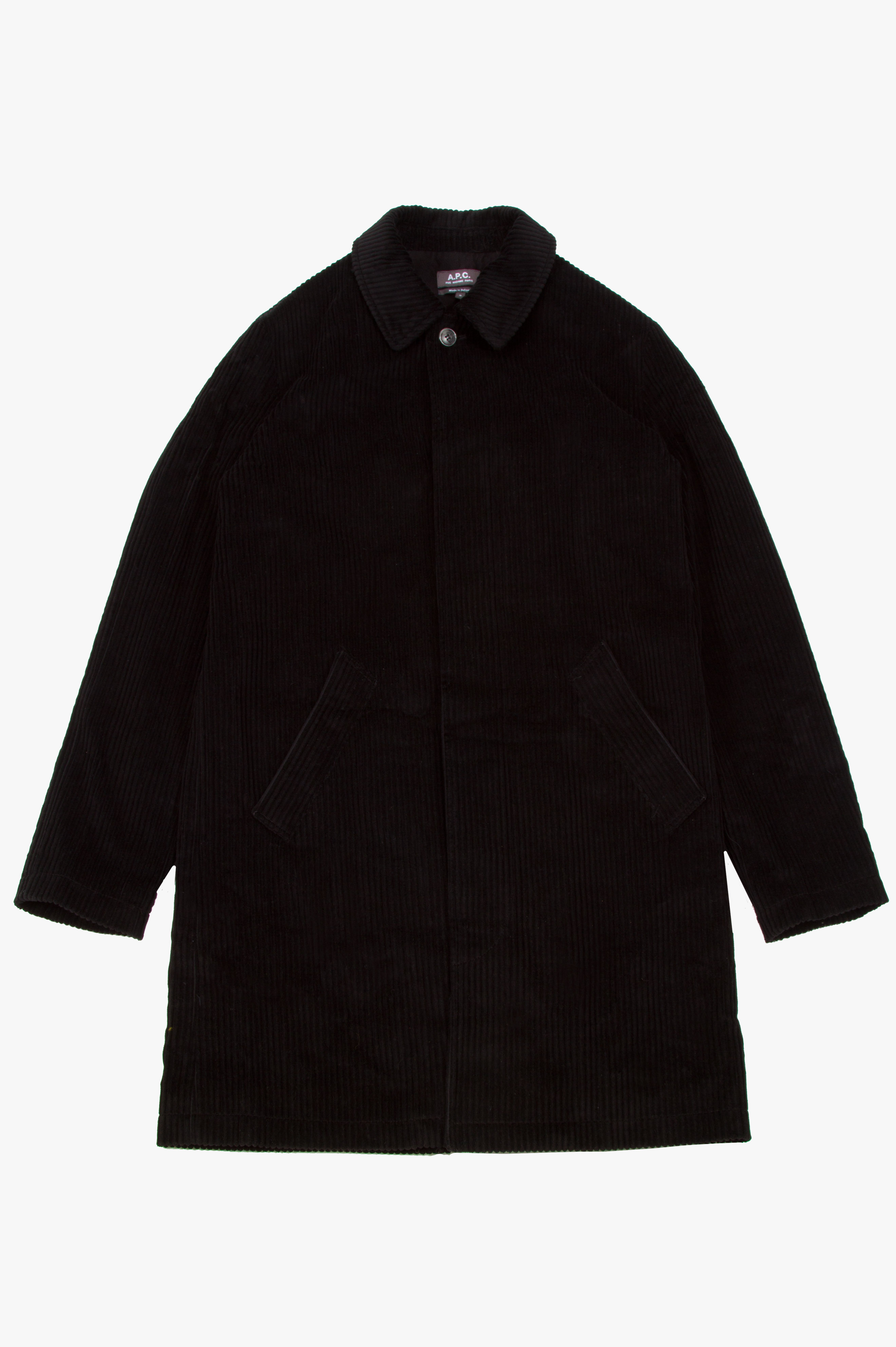 Portobello Coat Black
