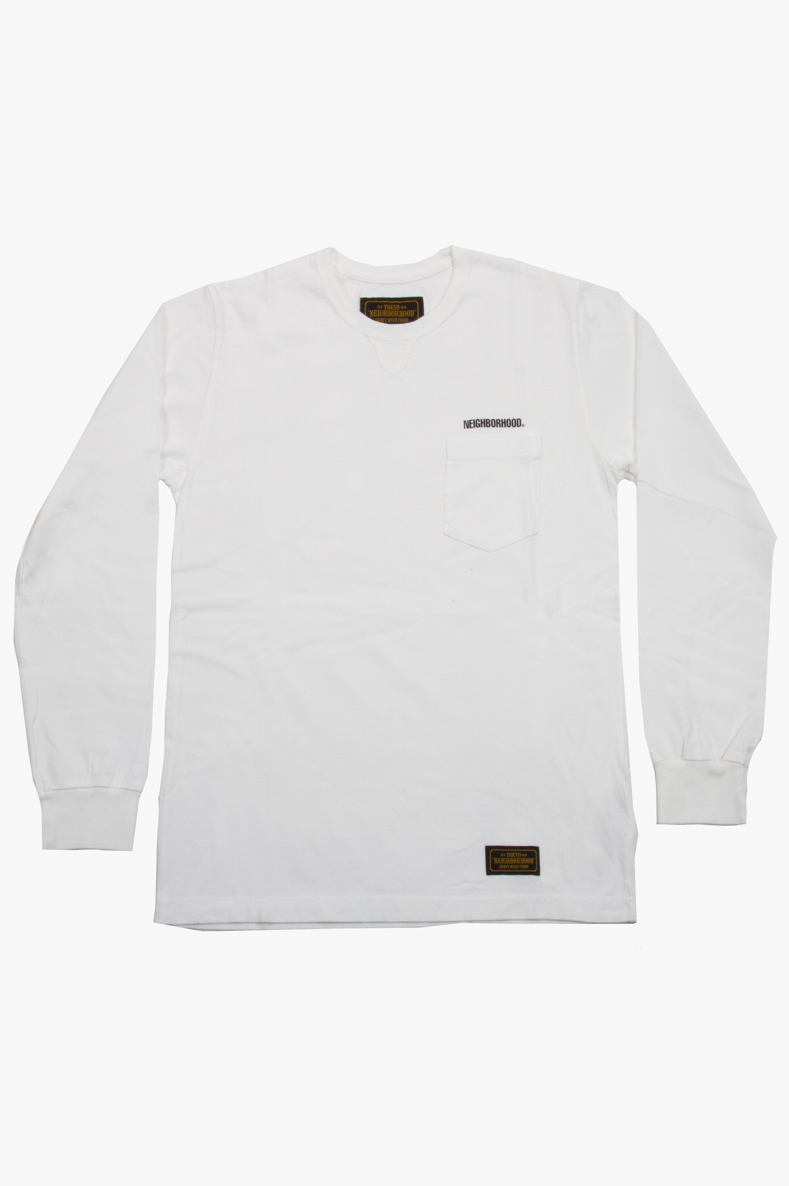 Classic-P C-Crew LS White