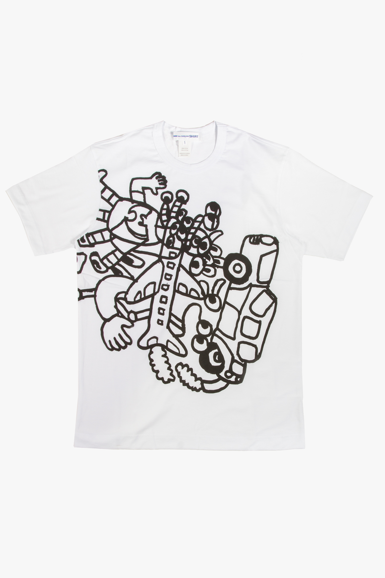 Noah Lyon Sketch T-Shirt White