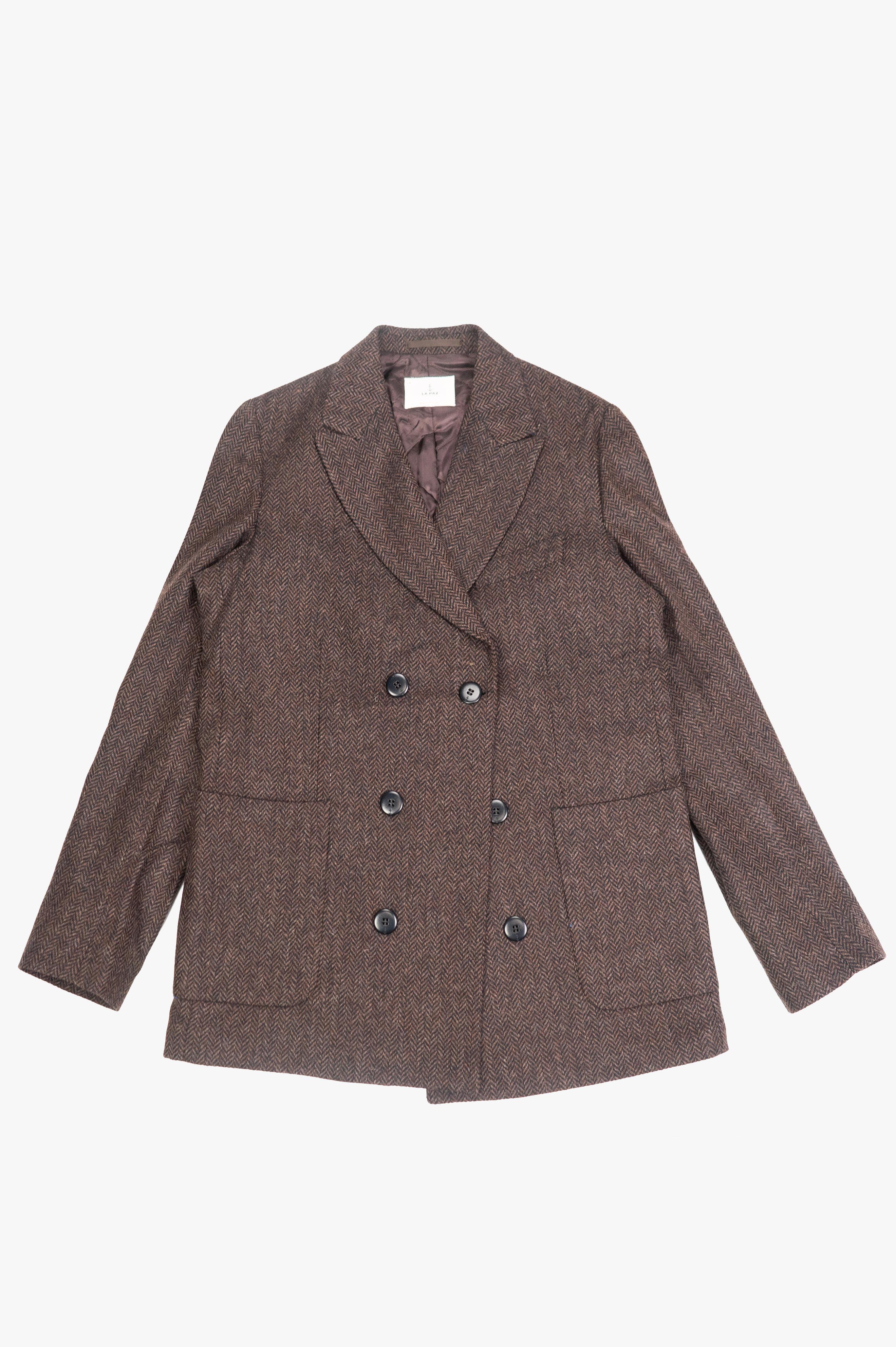 Cardoso Overcoat Brown