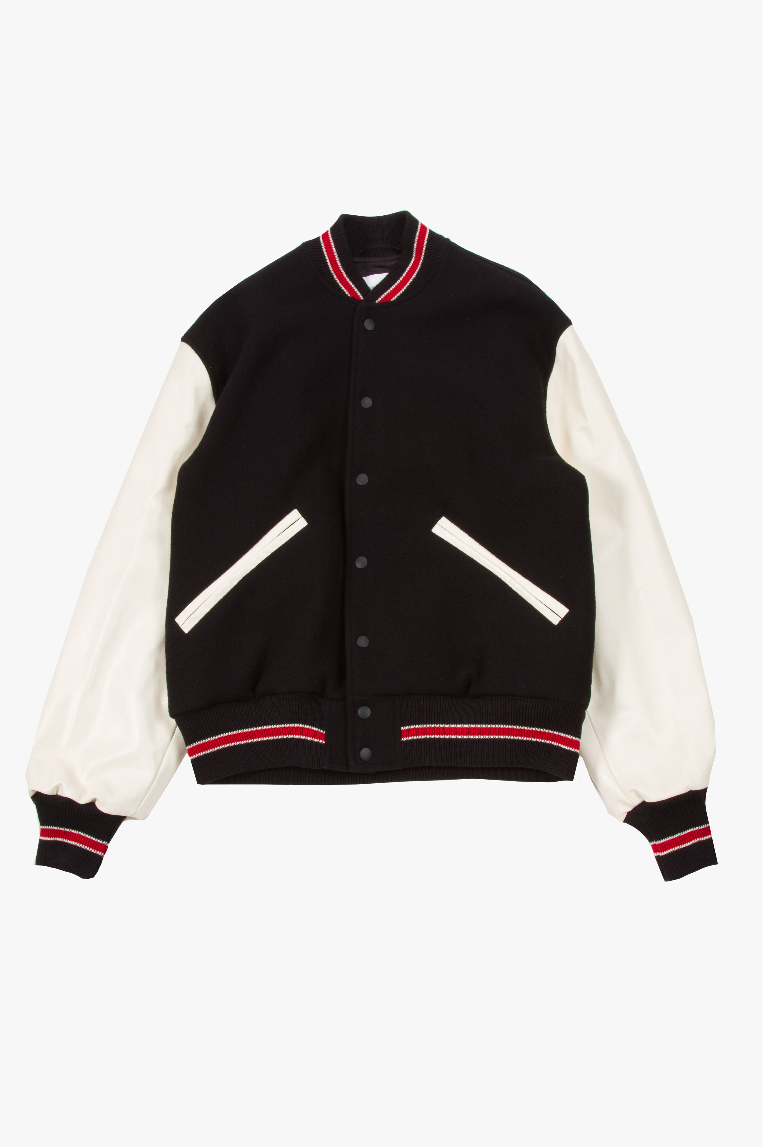 Trophy Jacket Black / White