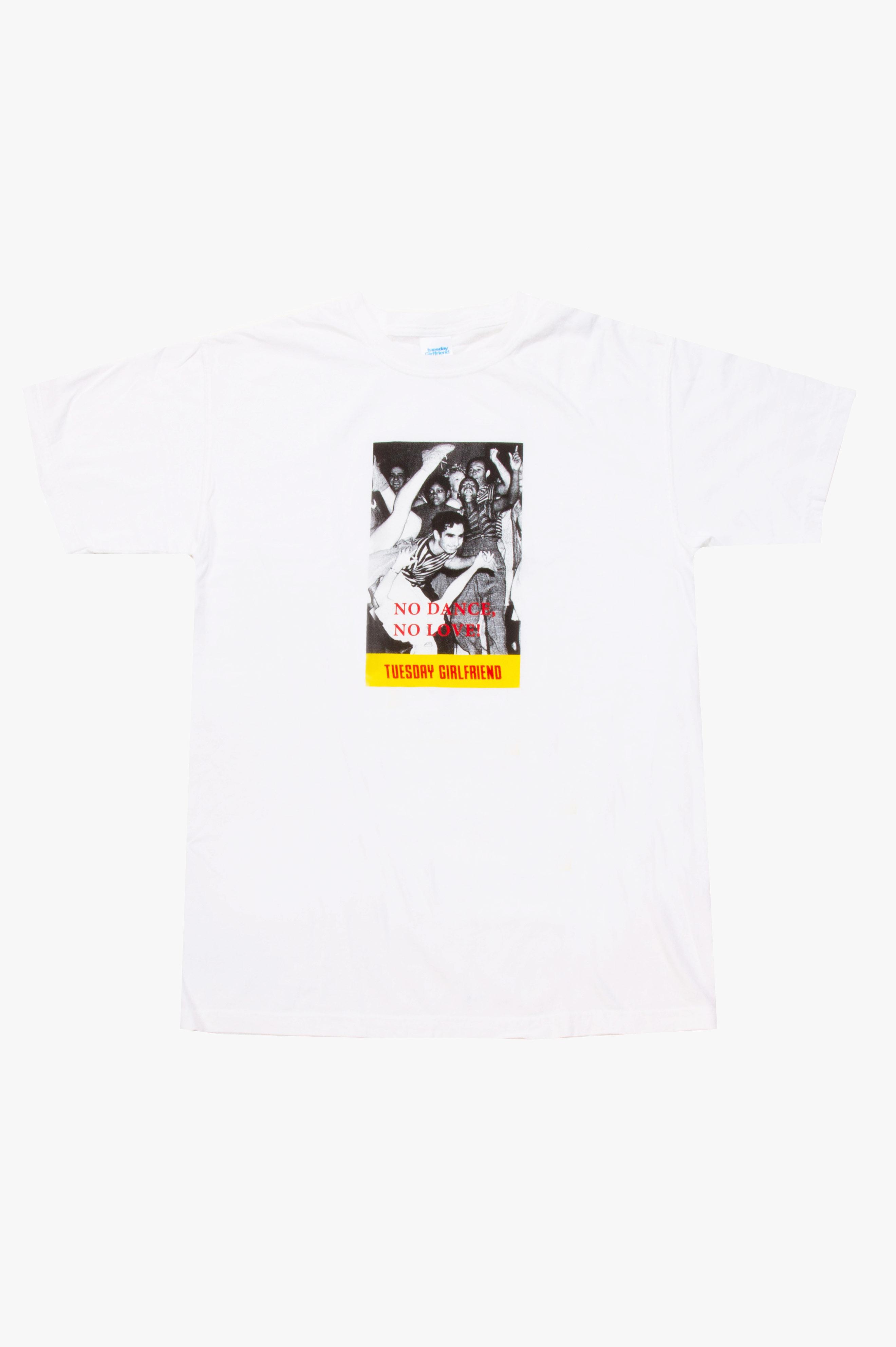 No Dance T-Shirt White