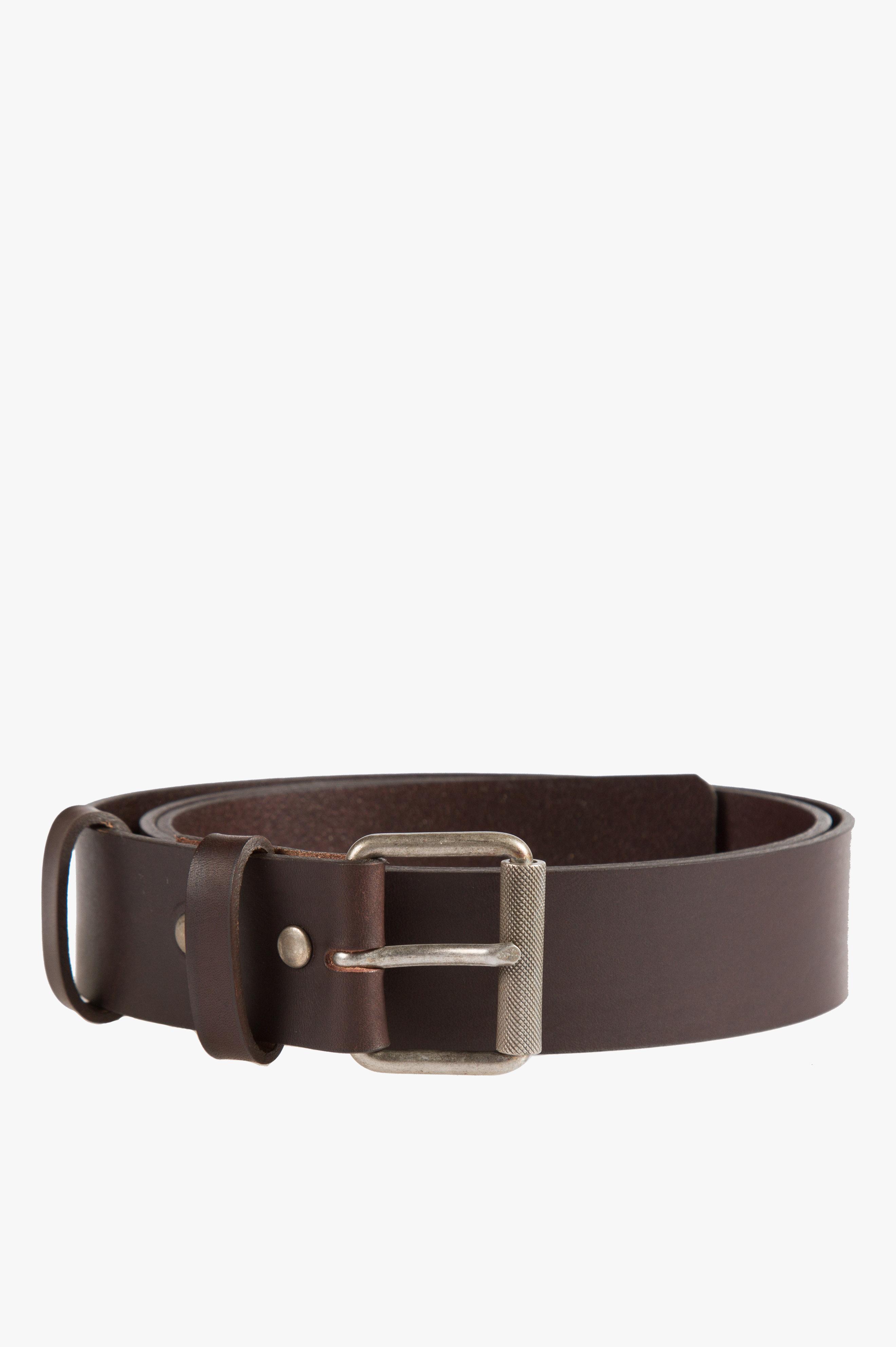 Virgile Belt Dark Chestnut Brown