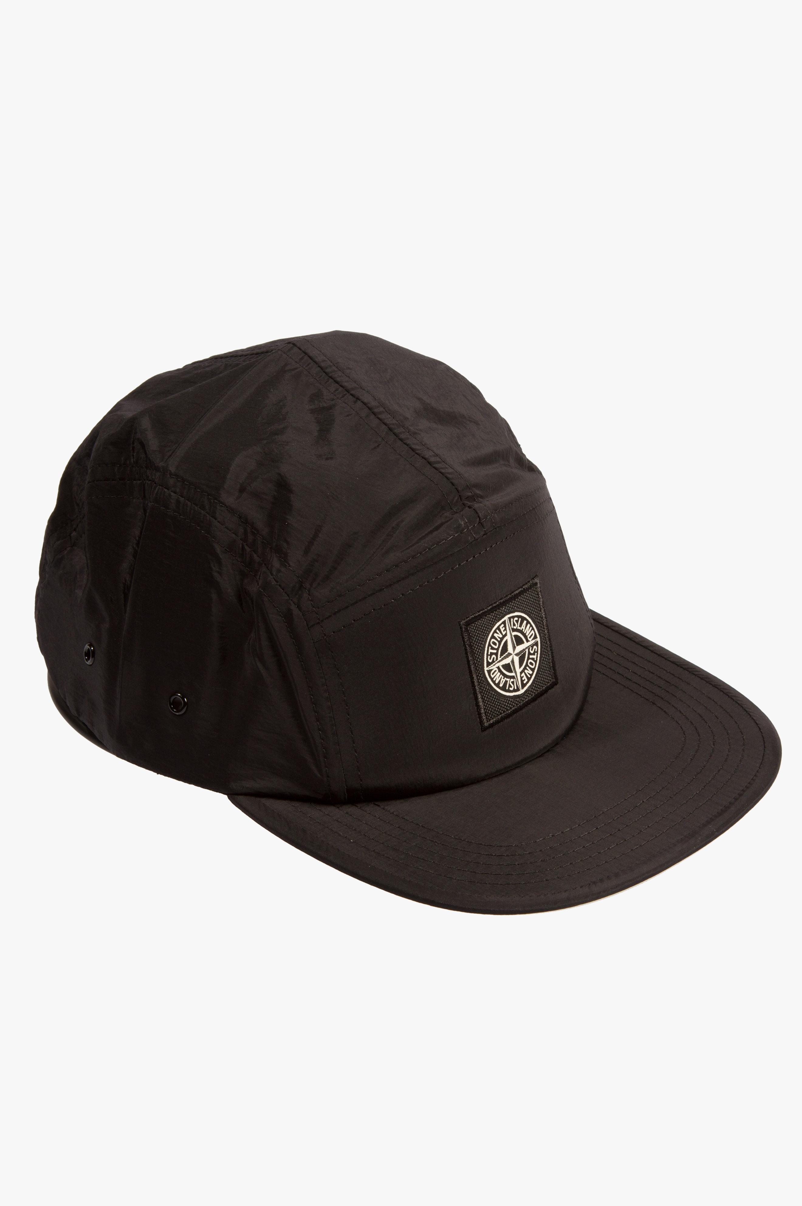 Nylon Metal Cap Black