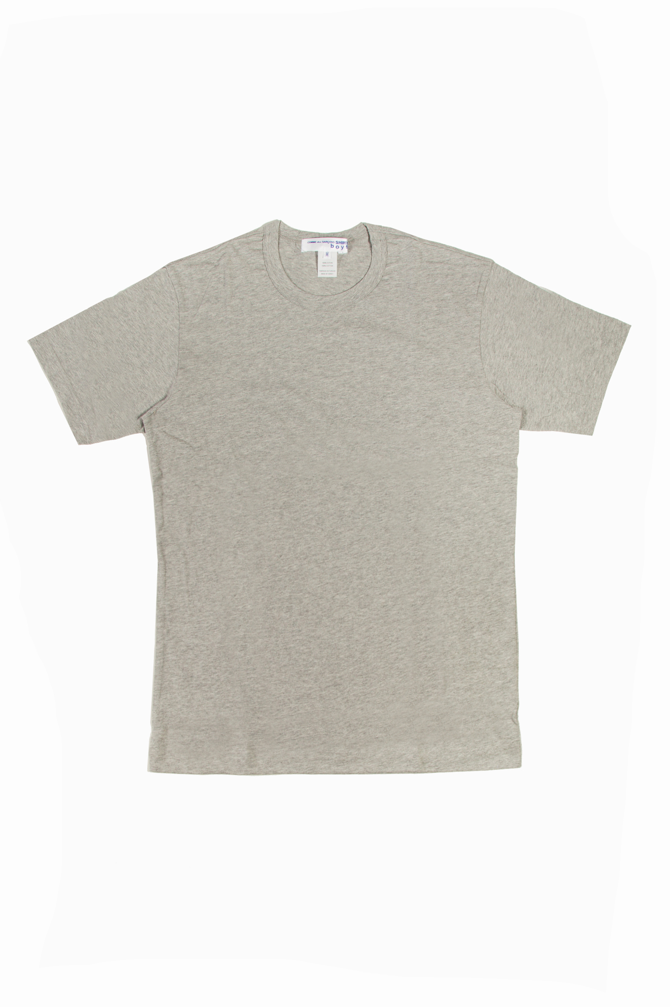 Boys Back Print T-Shirt Grey