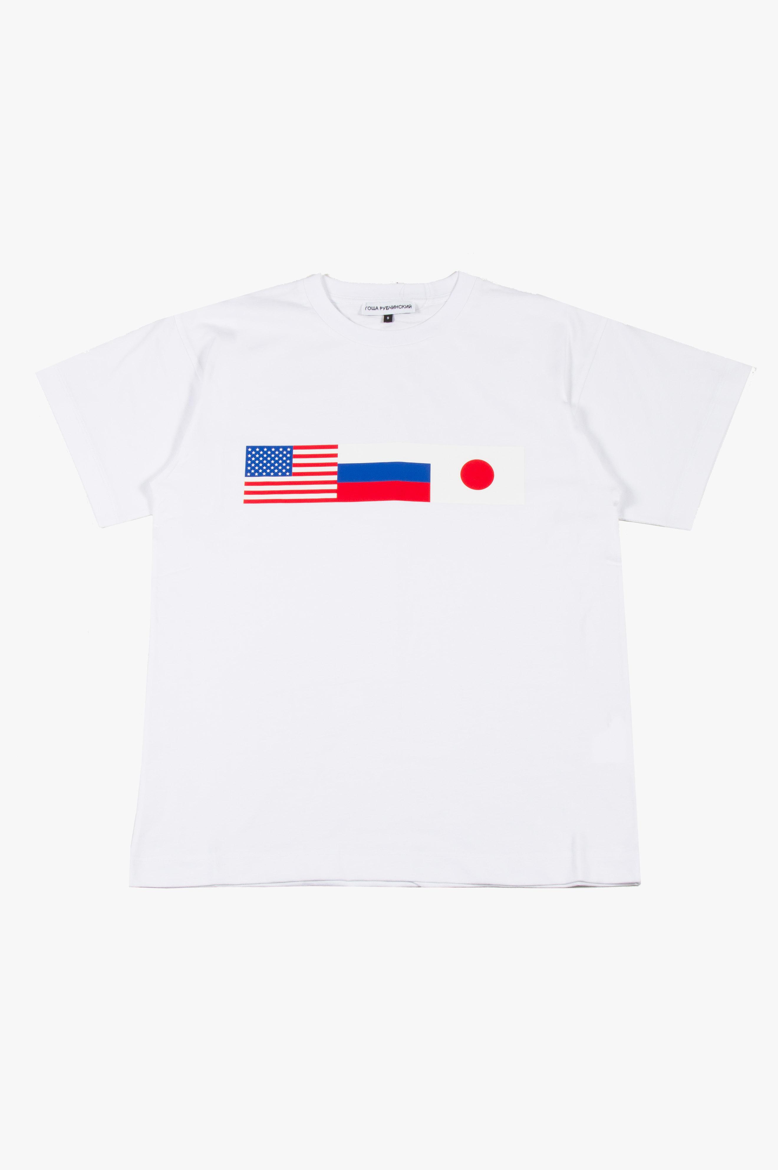 Flag T-Shirt White