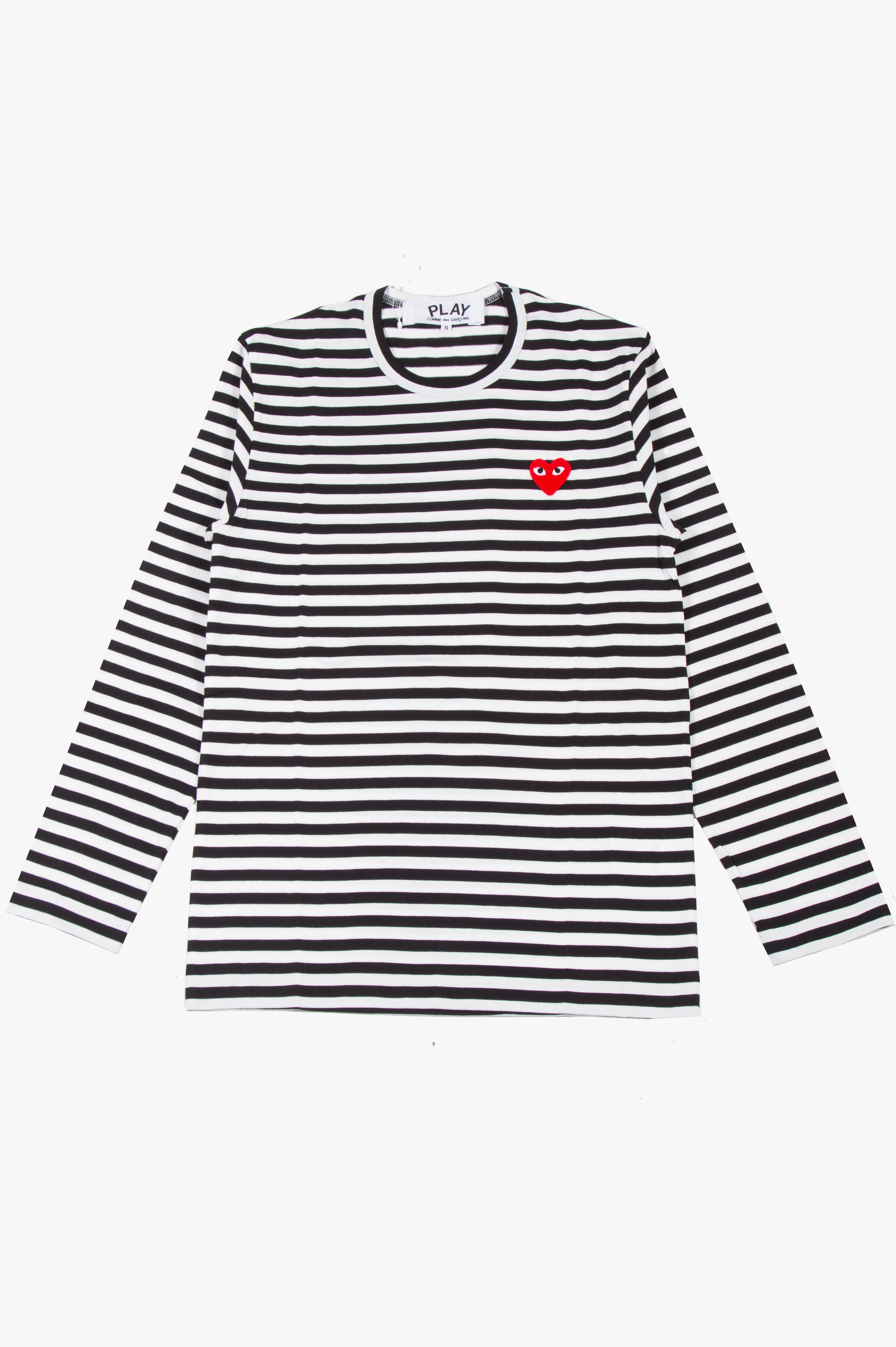 Striped Long Sleeve Black/White