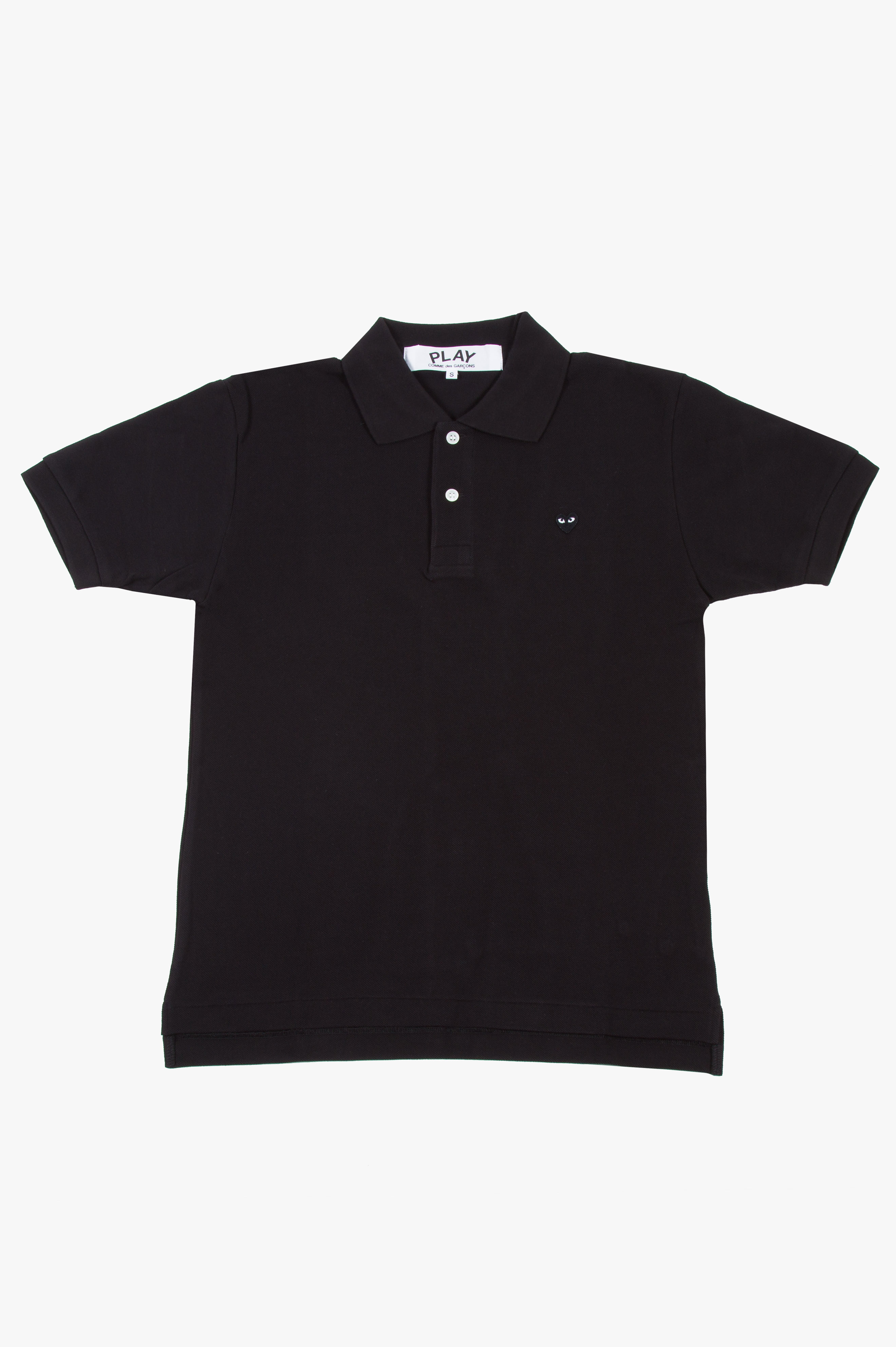 Black Heart Polo Black