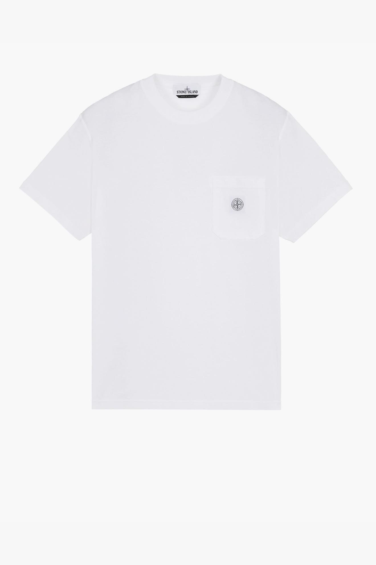 Pocket 'Fissato' T-Shirt White