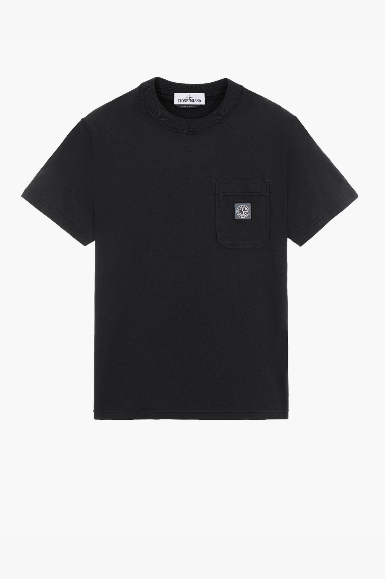 Pocket 'Fissato' T-Shirt Black