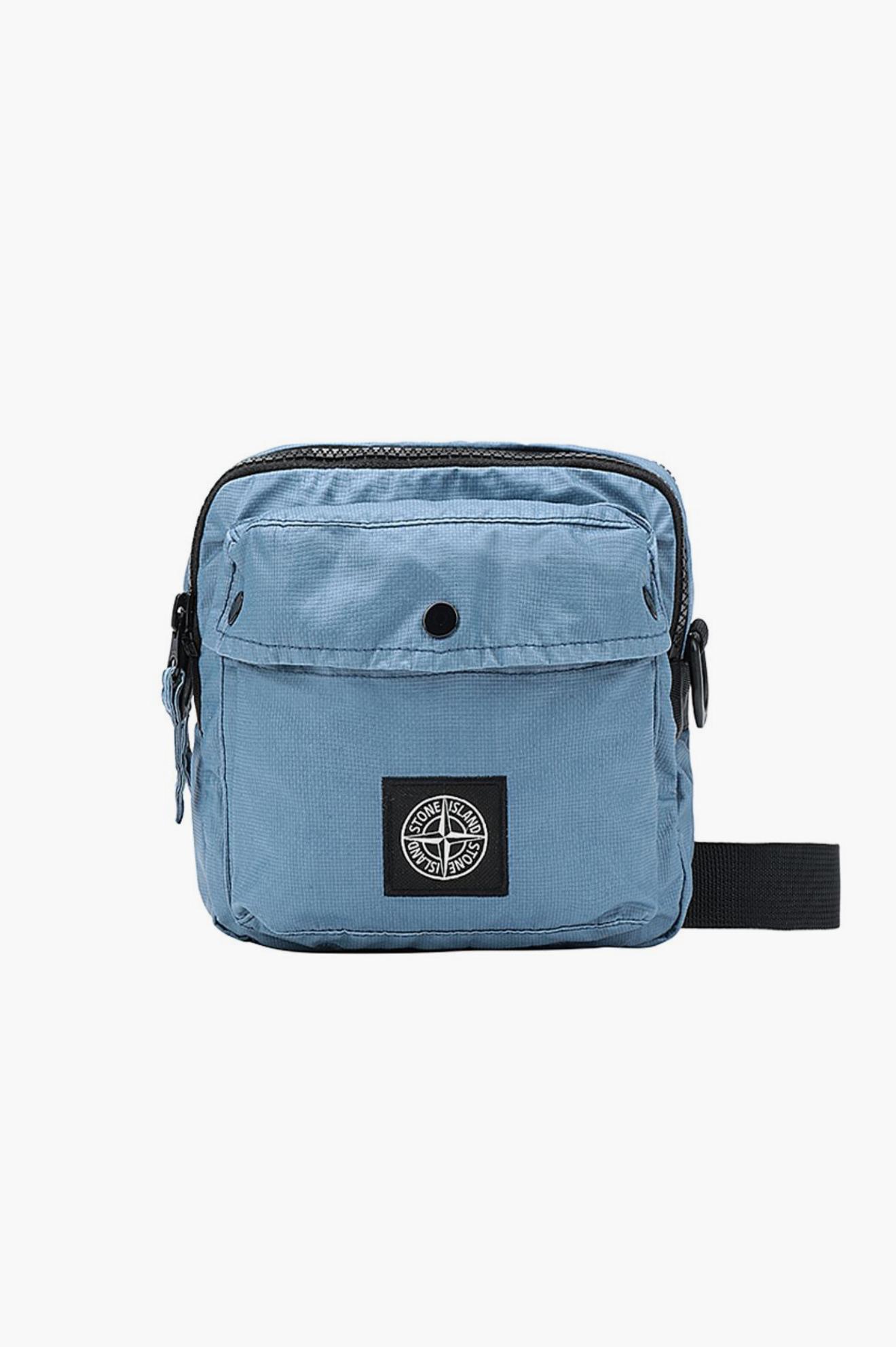 Map Bag Pastel Blue