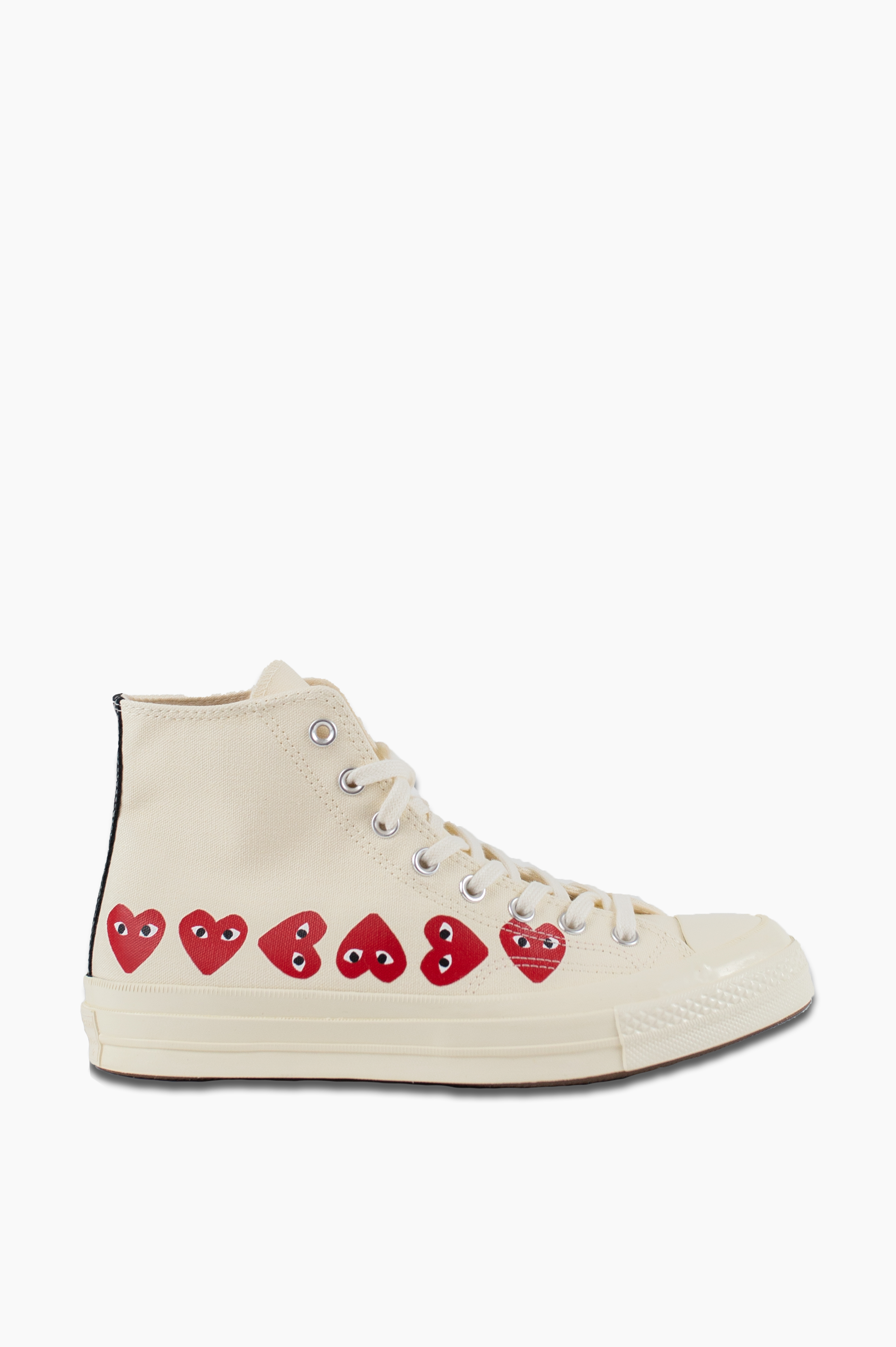 Converse Chuck Taylor All Star '70 High Off White Multy Heart