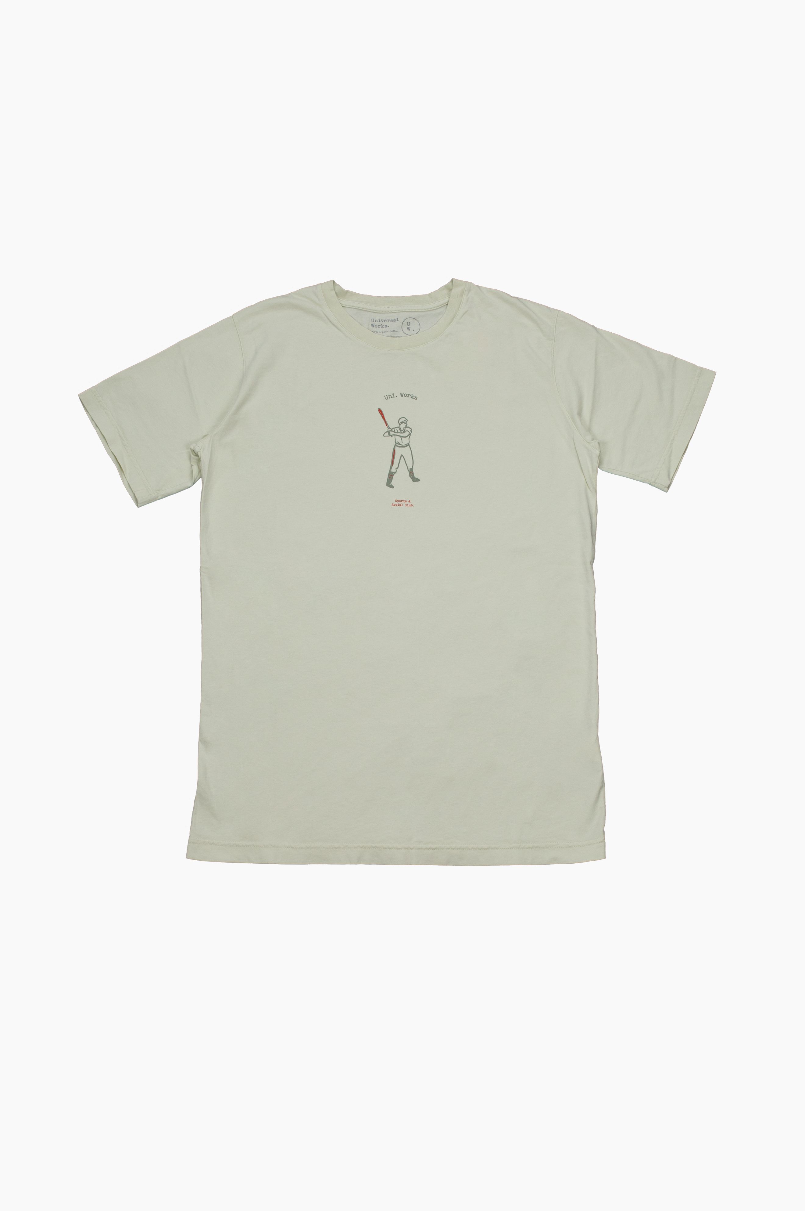 Baseball T-Shirt Ecru