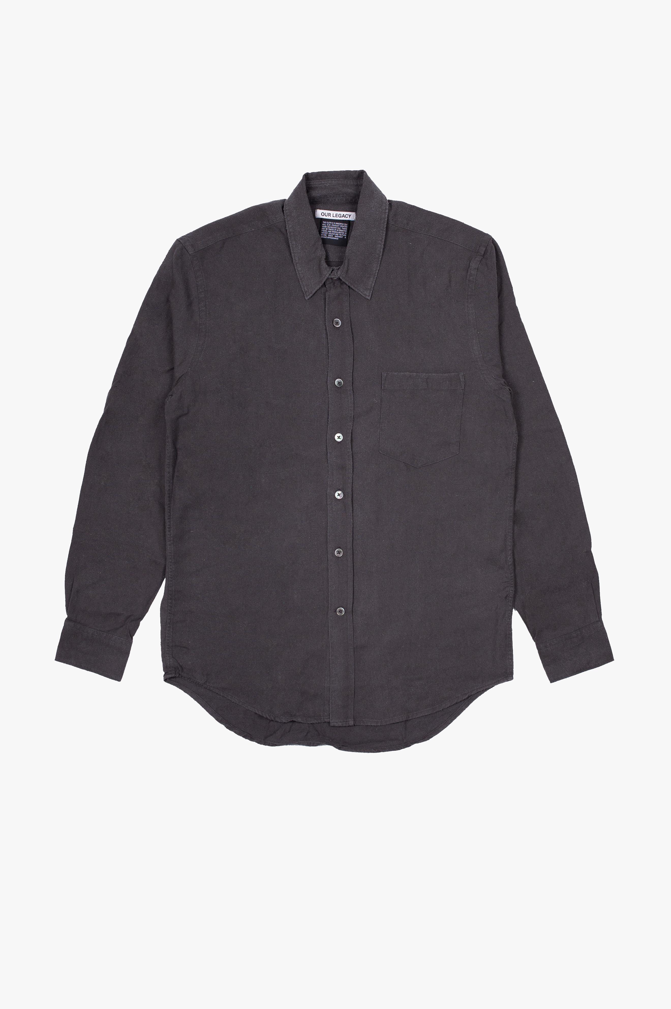 Classic Shirt Forrest Black Silk