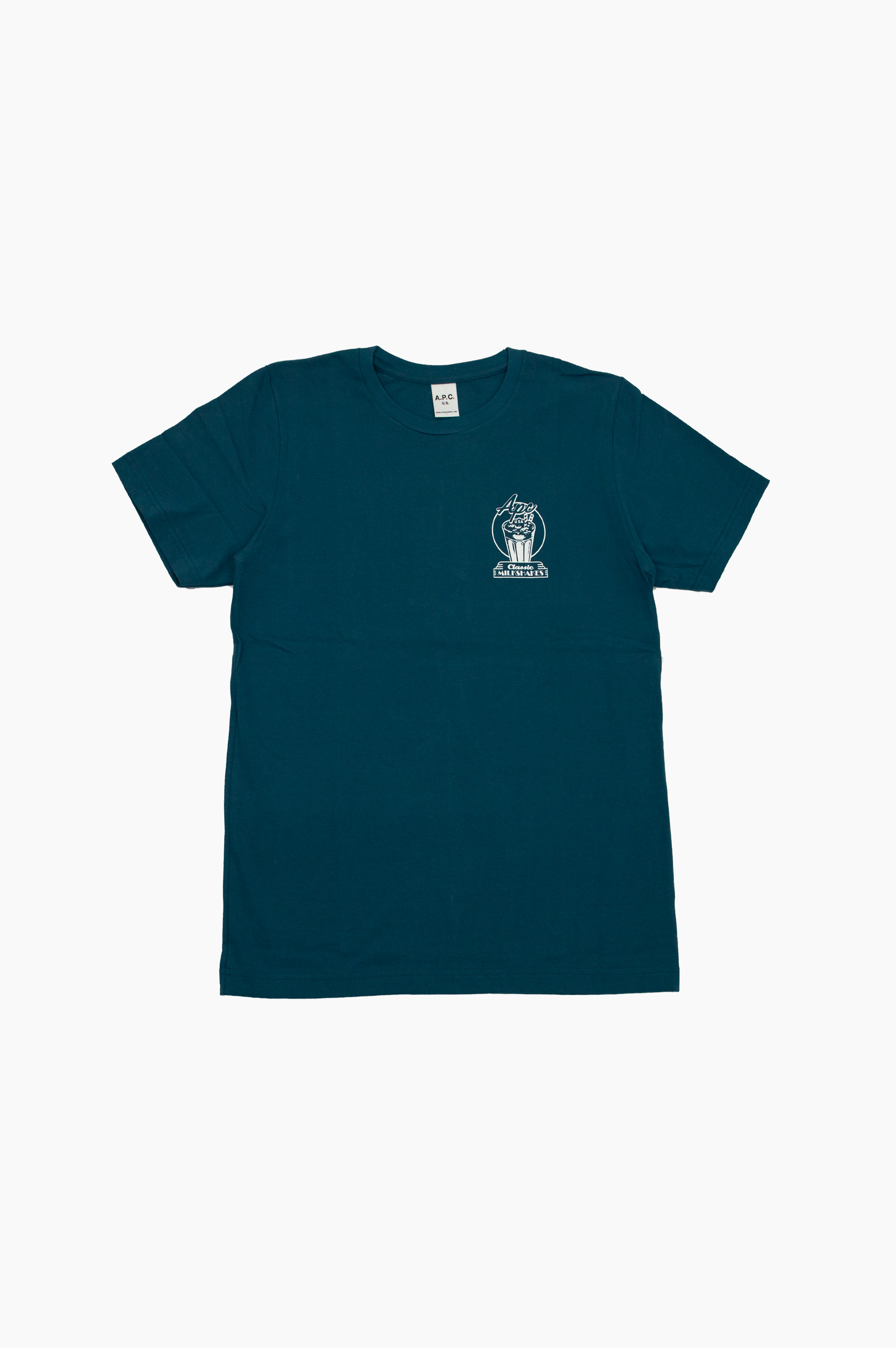 Blake T-Shirt Peacock Blue
