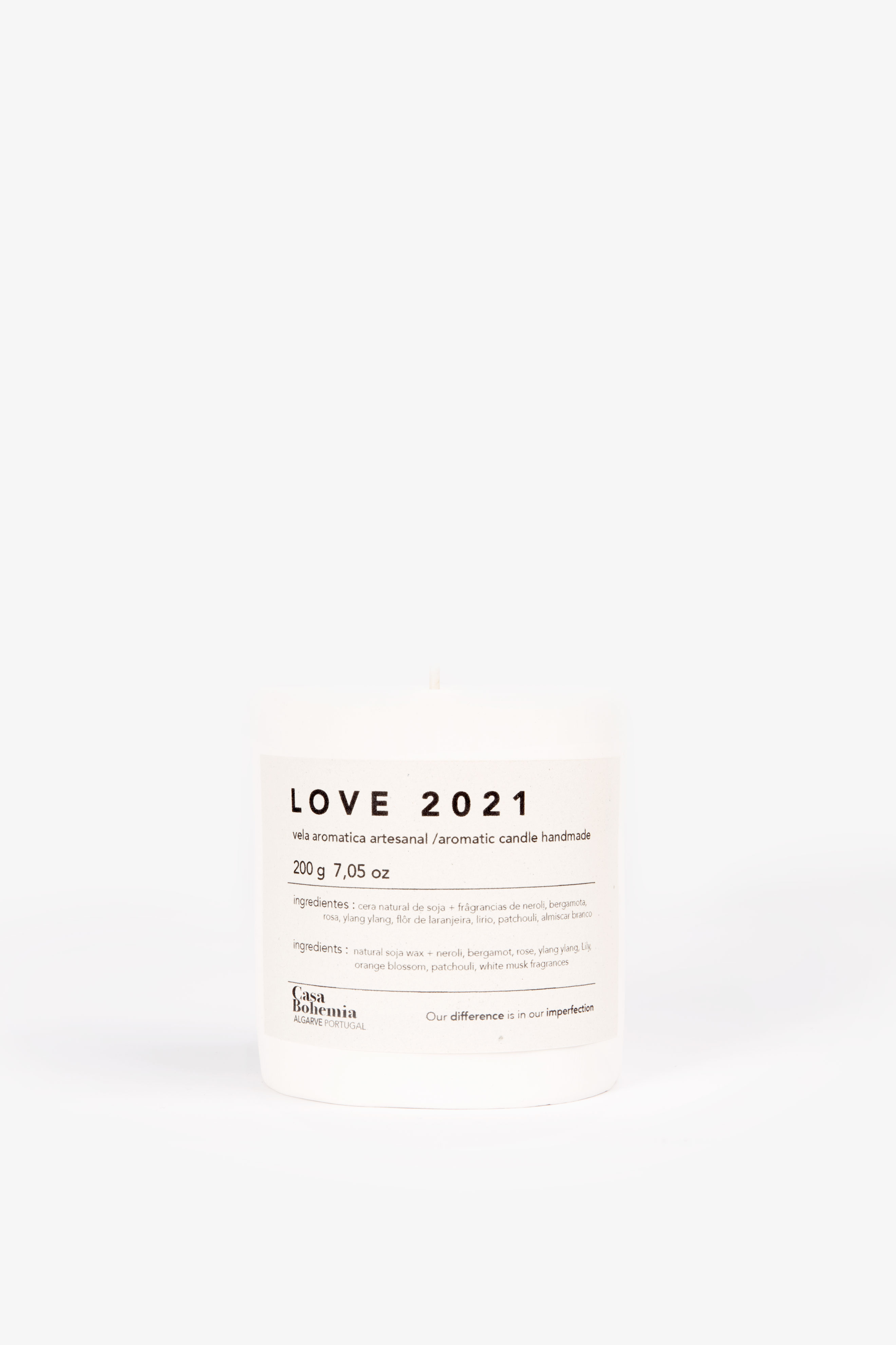 Love 2021 Candle (200gr)