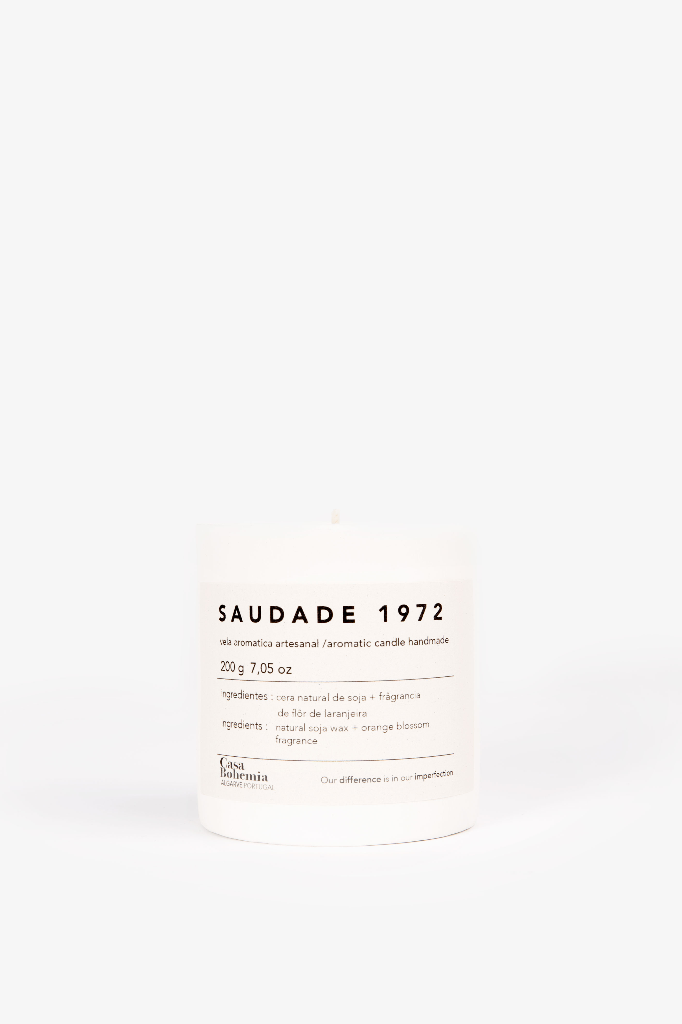 Saudade 1972 Candle (200grs)