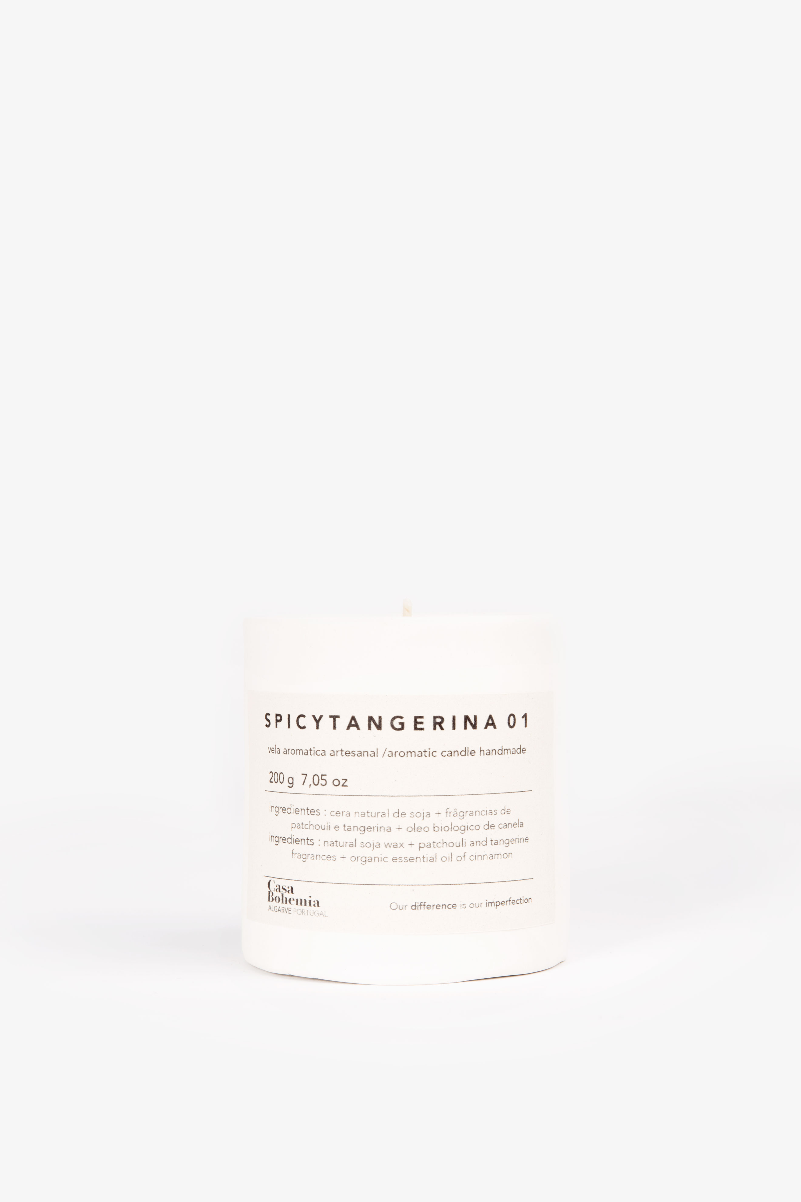 Spicy Tangerina Candle (200grs)