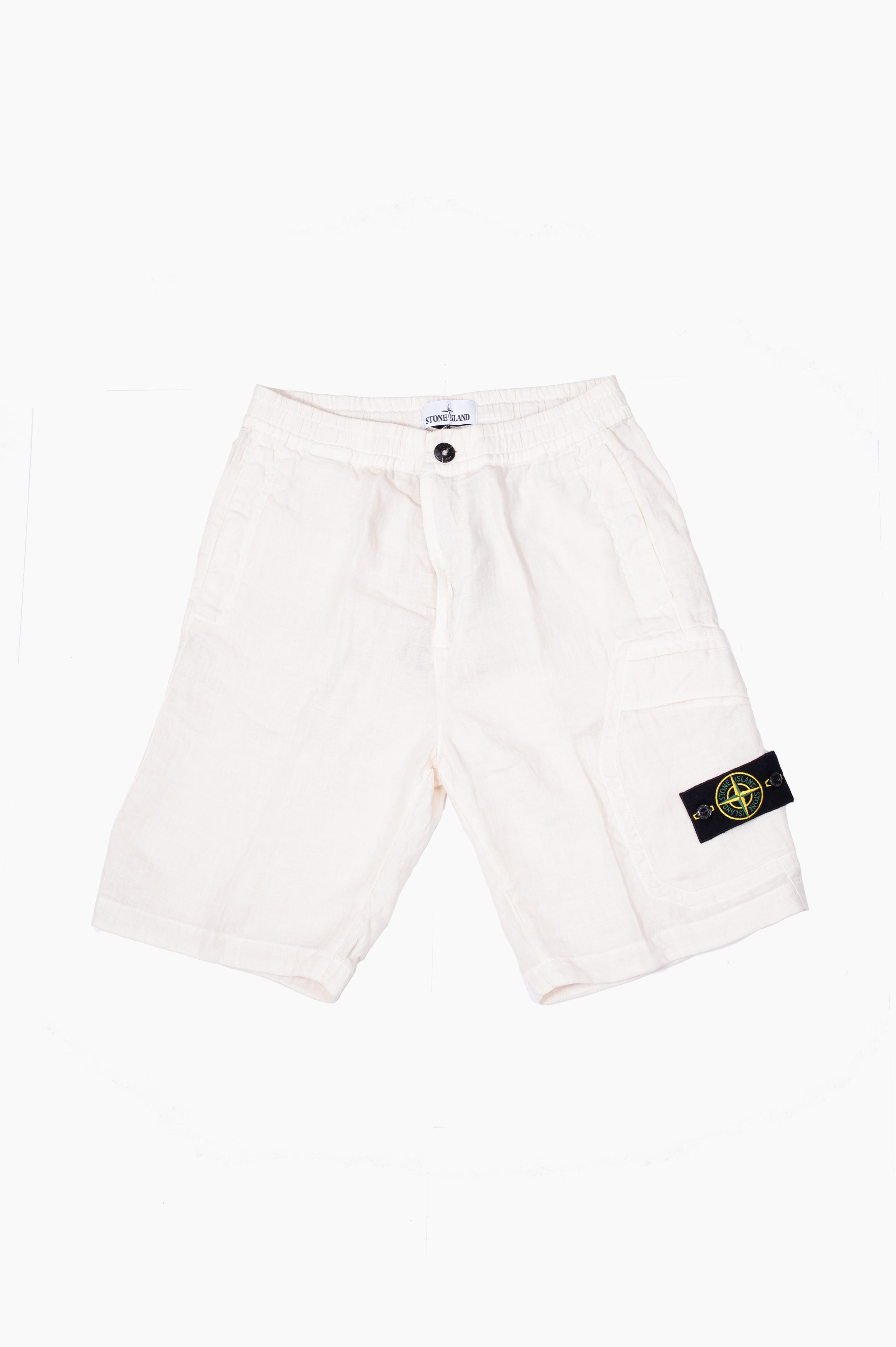 Cargo Bermuda Shorts White