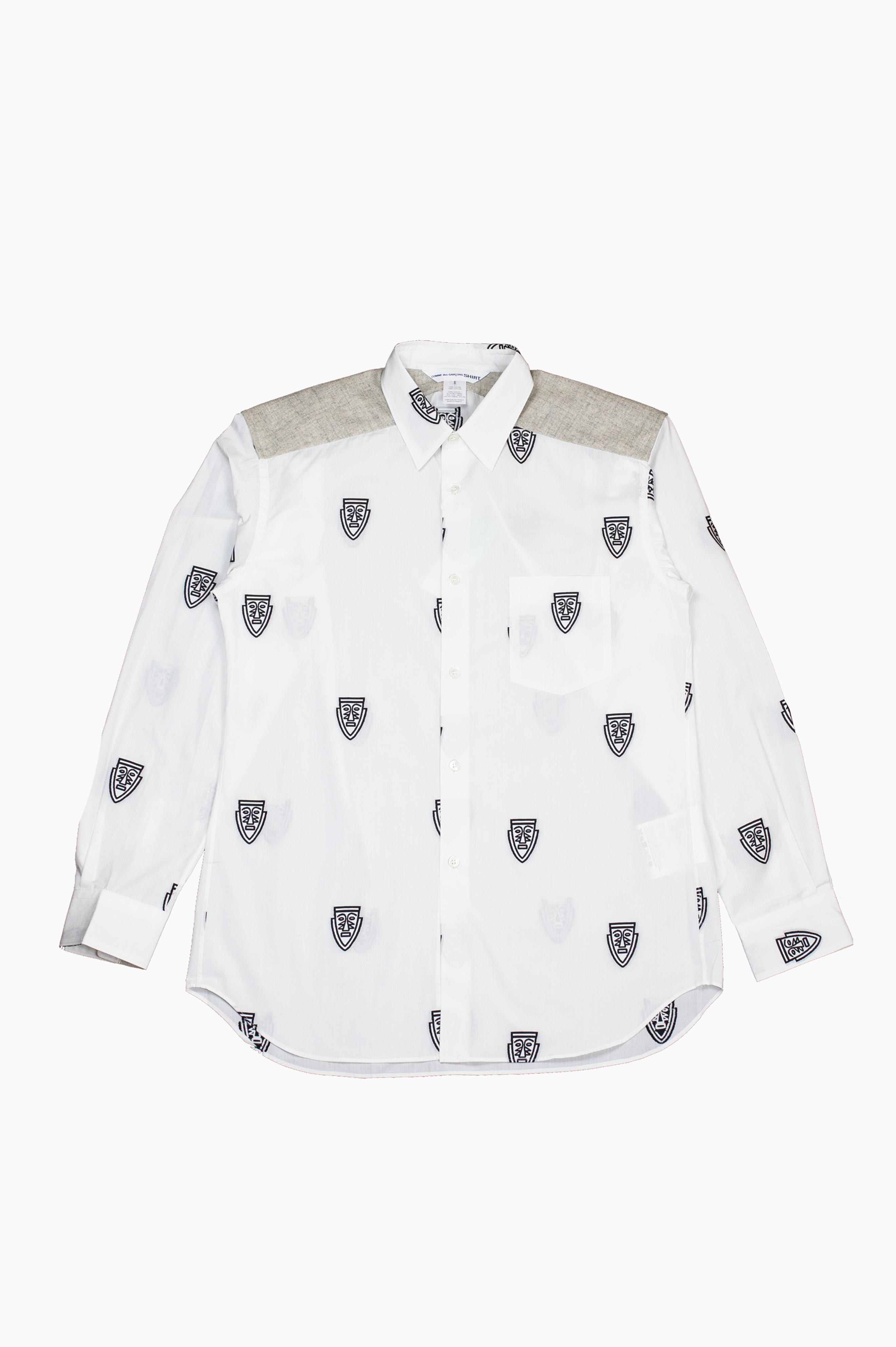 Mask Shirt White