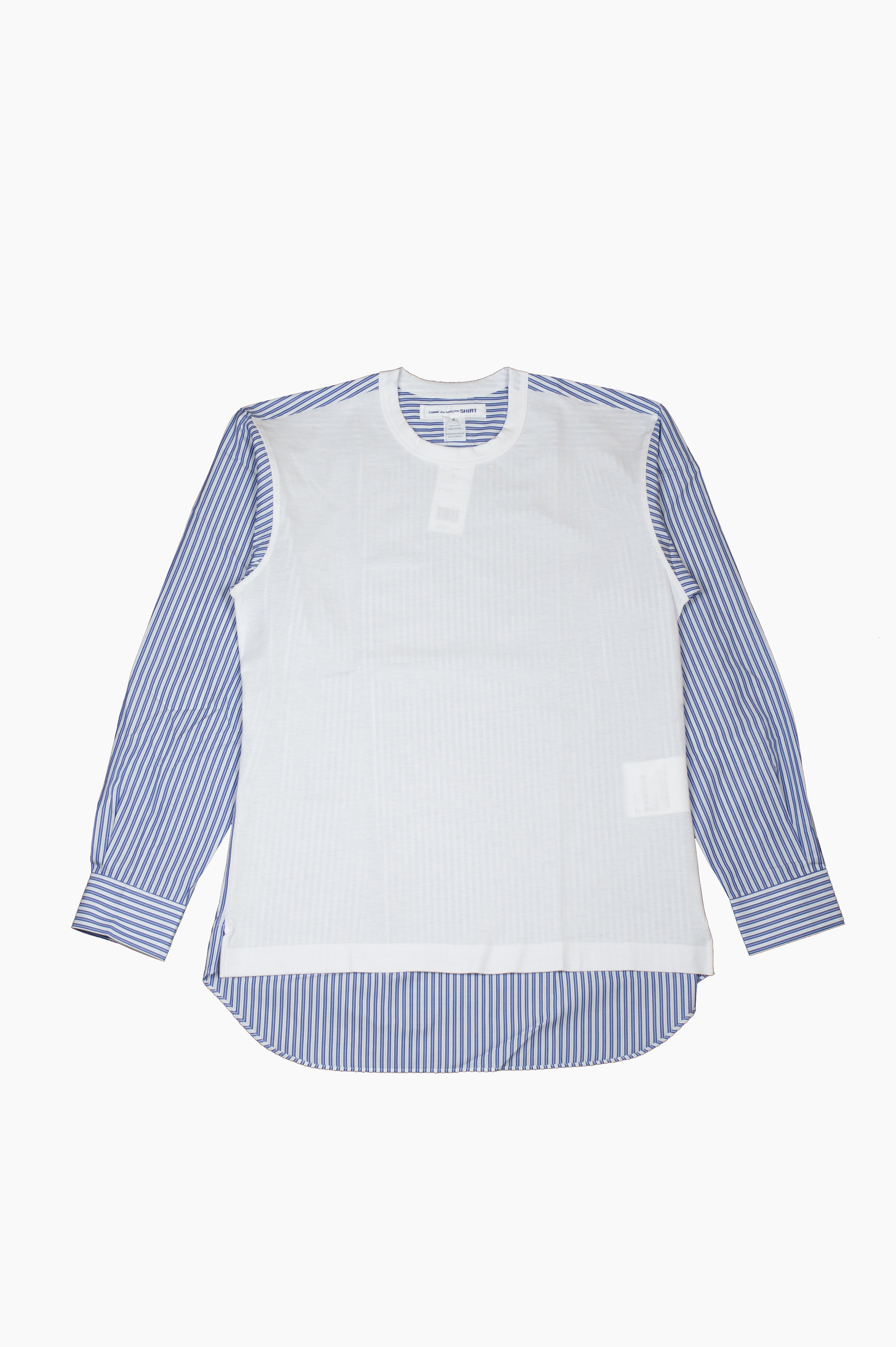 T-Shirt/Shirt White/Blue