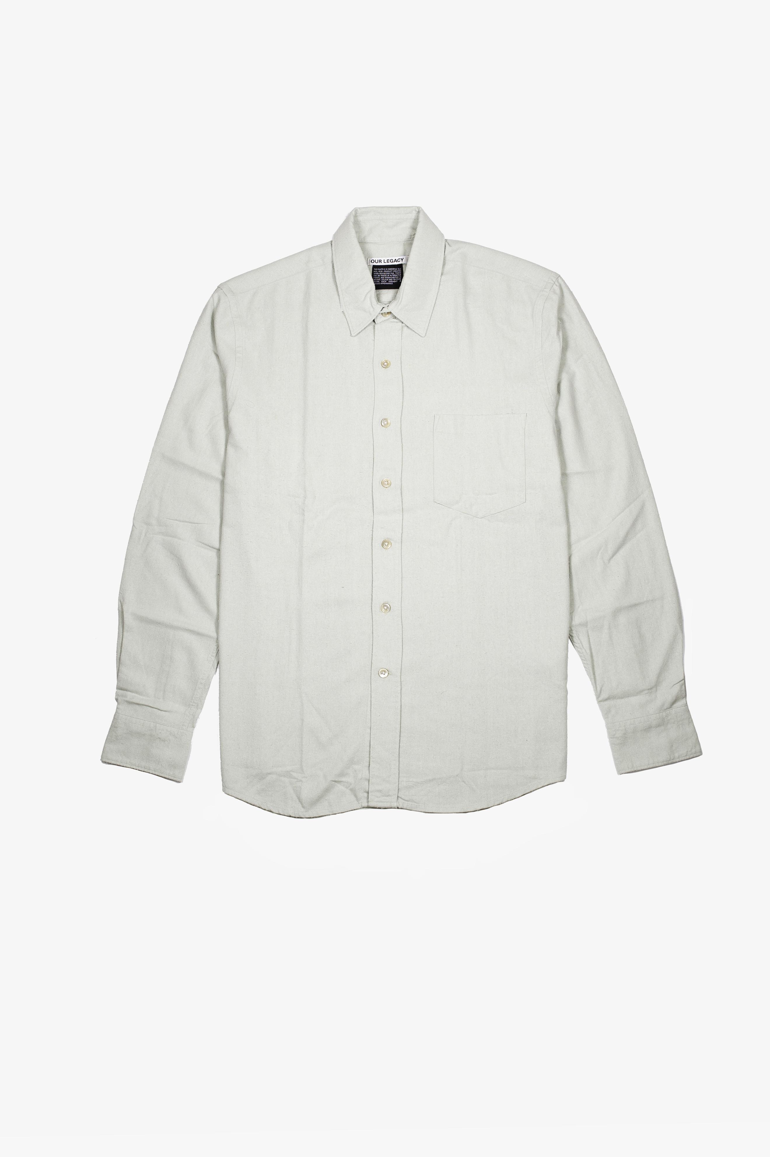 Classic Shirt Translucent Pistachio Silk