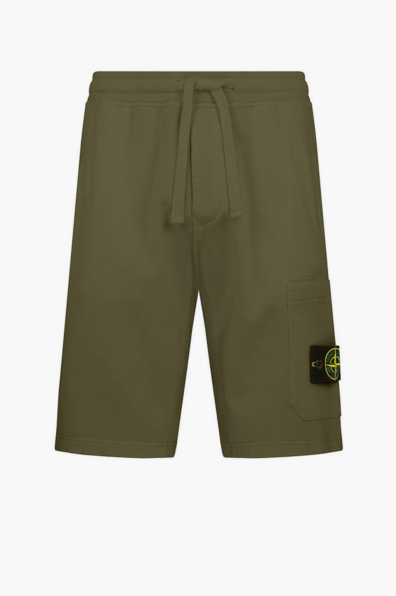 Jogging Short Pants Dark Green