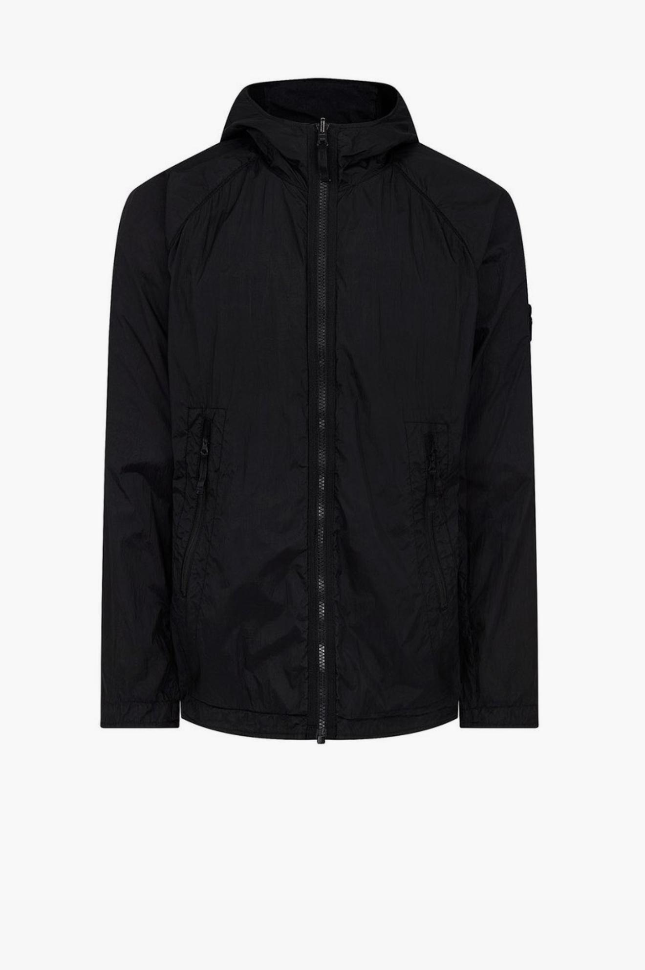 Ghost Piece Stretch Wool / Nylon (Reversible) Black