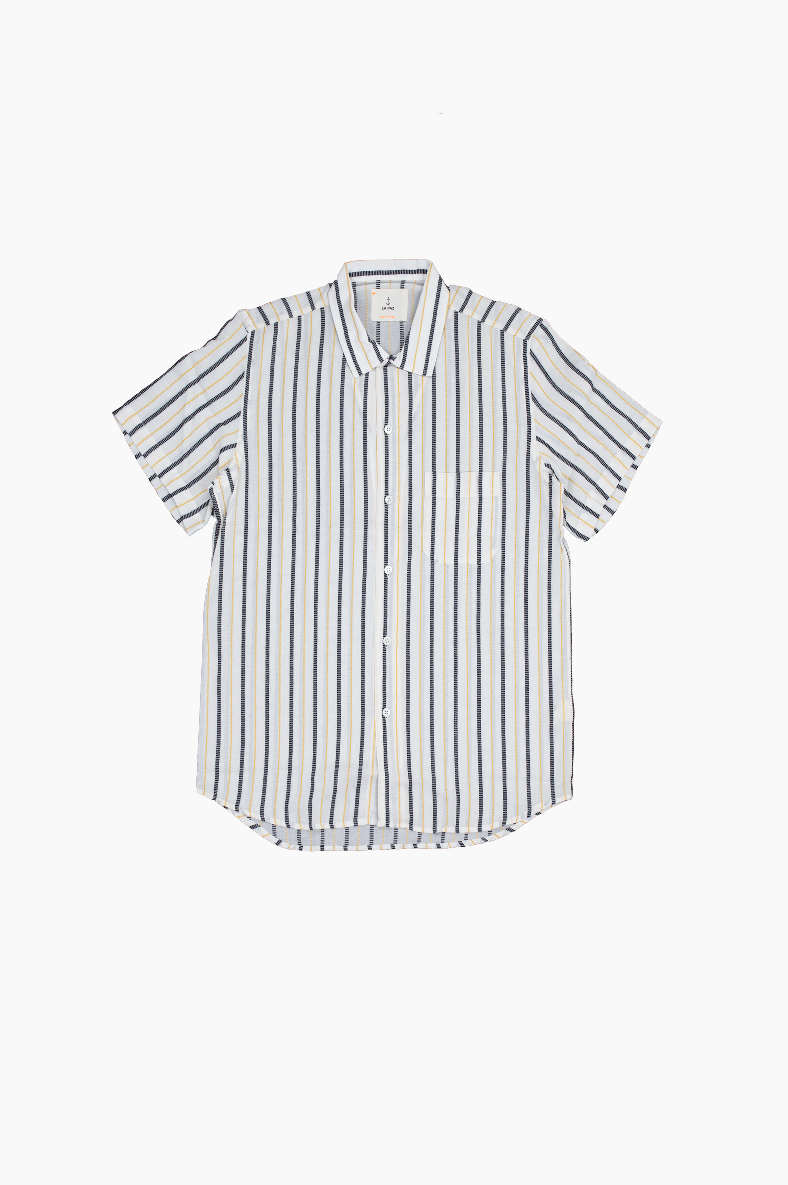 Silveira Hendrix Striped Short Sleeve Shirt
