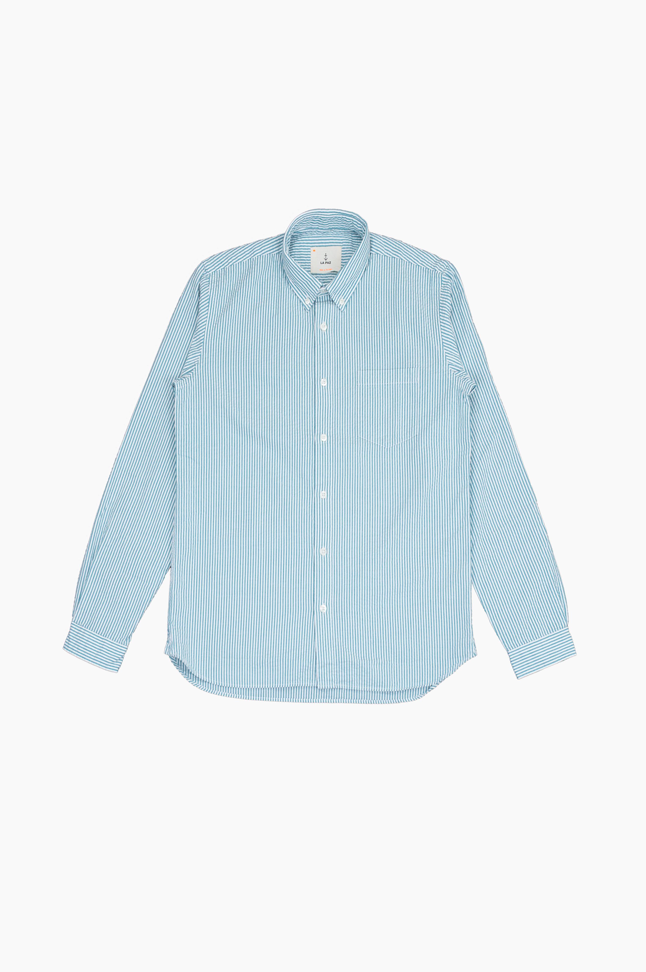 Laranjeira Green Stripes Shirt