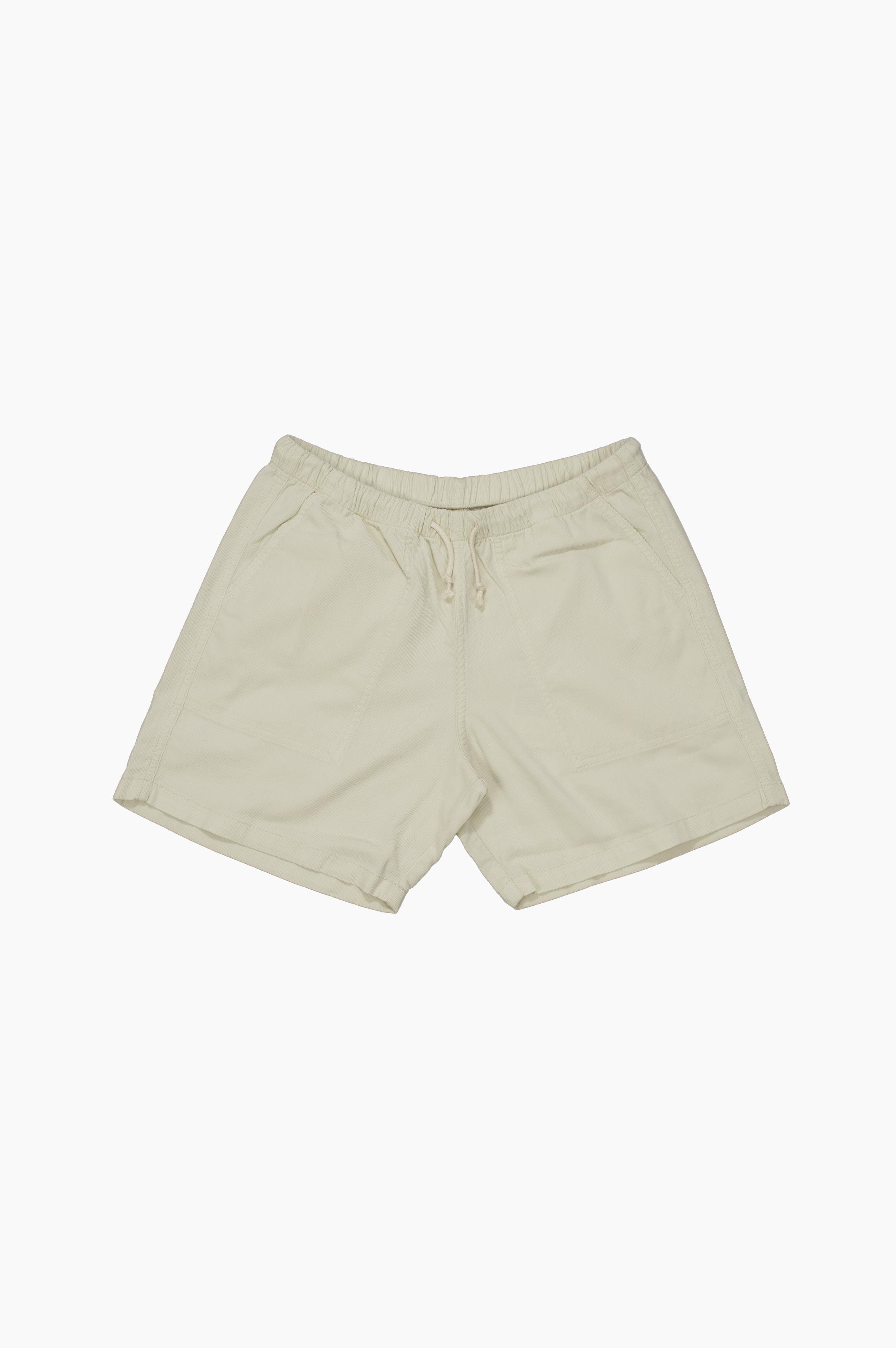 Corduroy Short Pants Beige