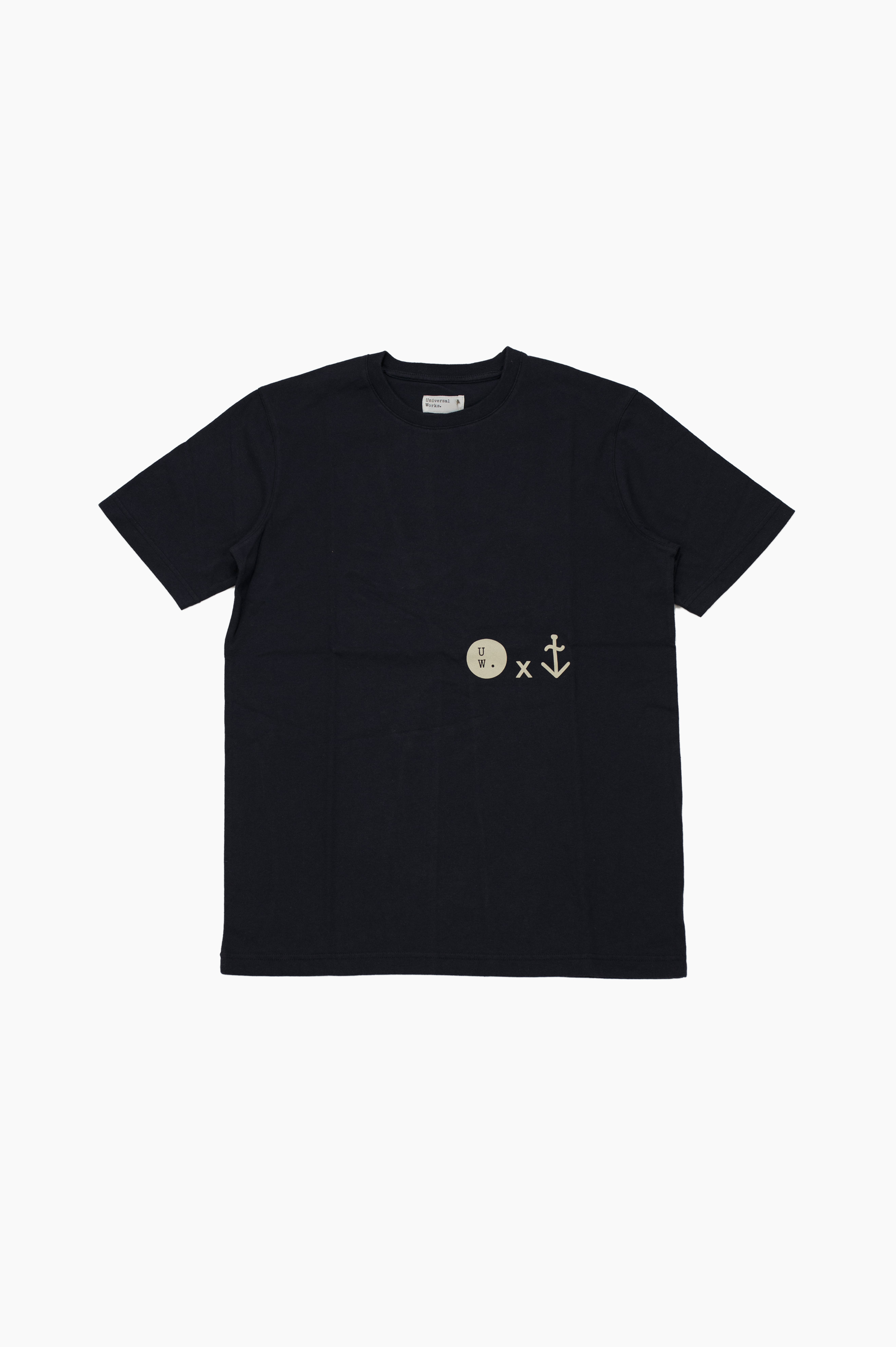 x Universal Works T-Shirt Navy