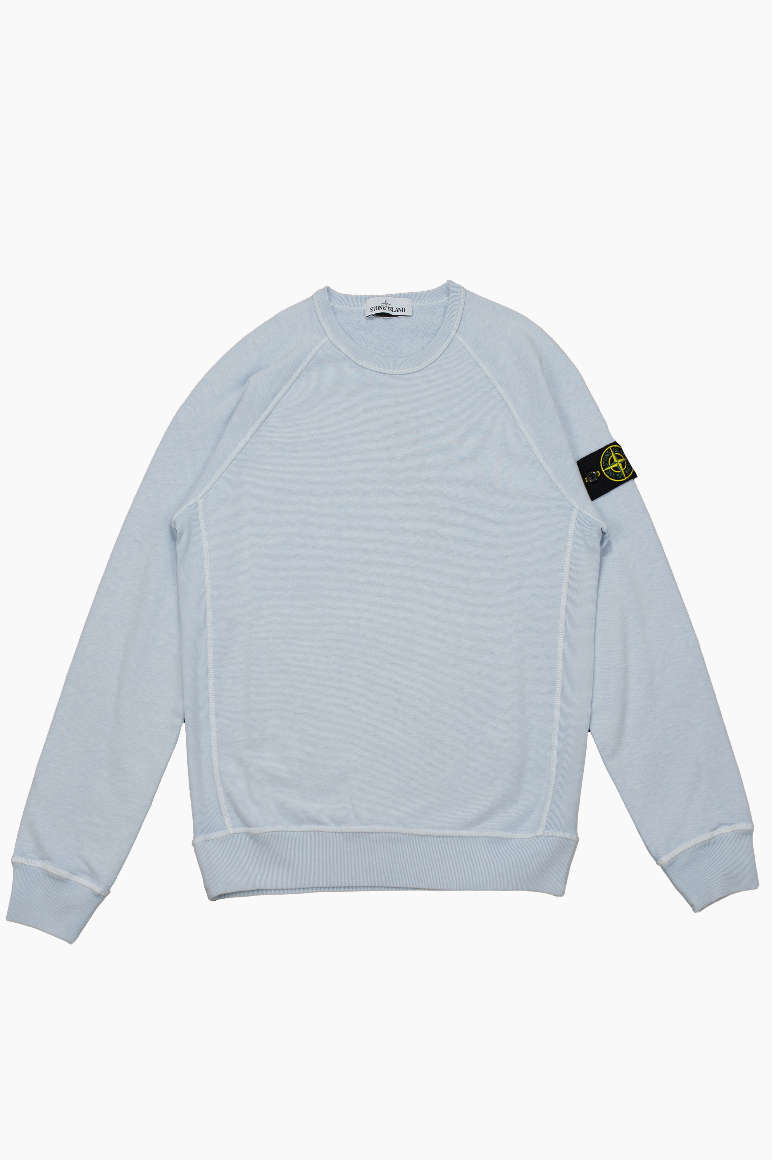 'Old' Treatment Sweatshirt Sky Blue