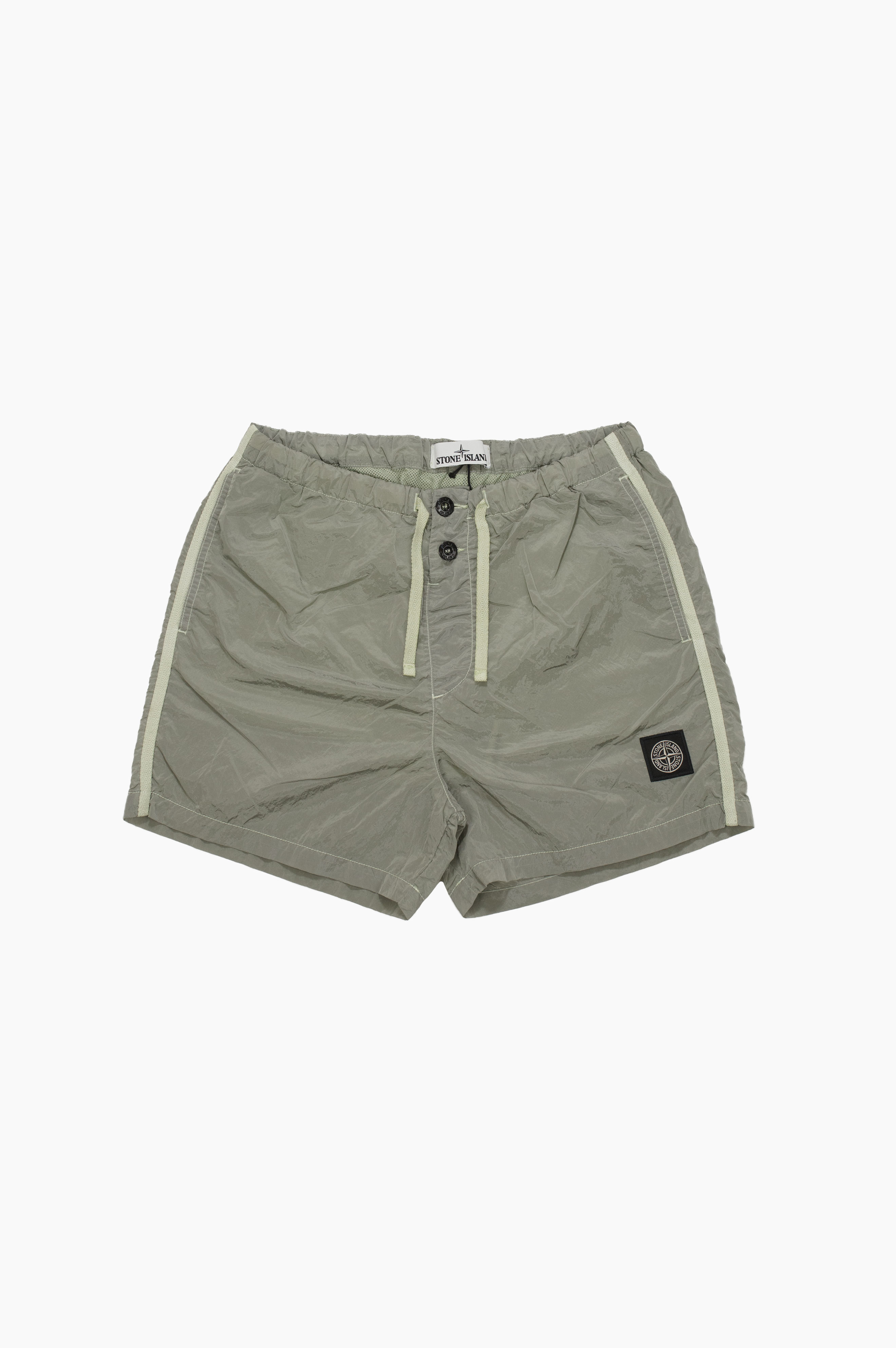 Swim Shorts Nylon Metal Teal Green