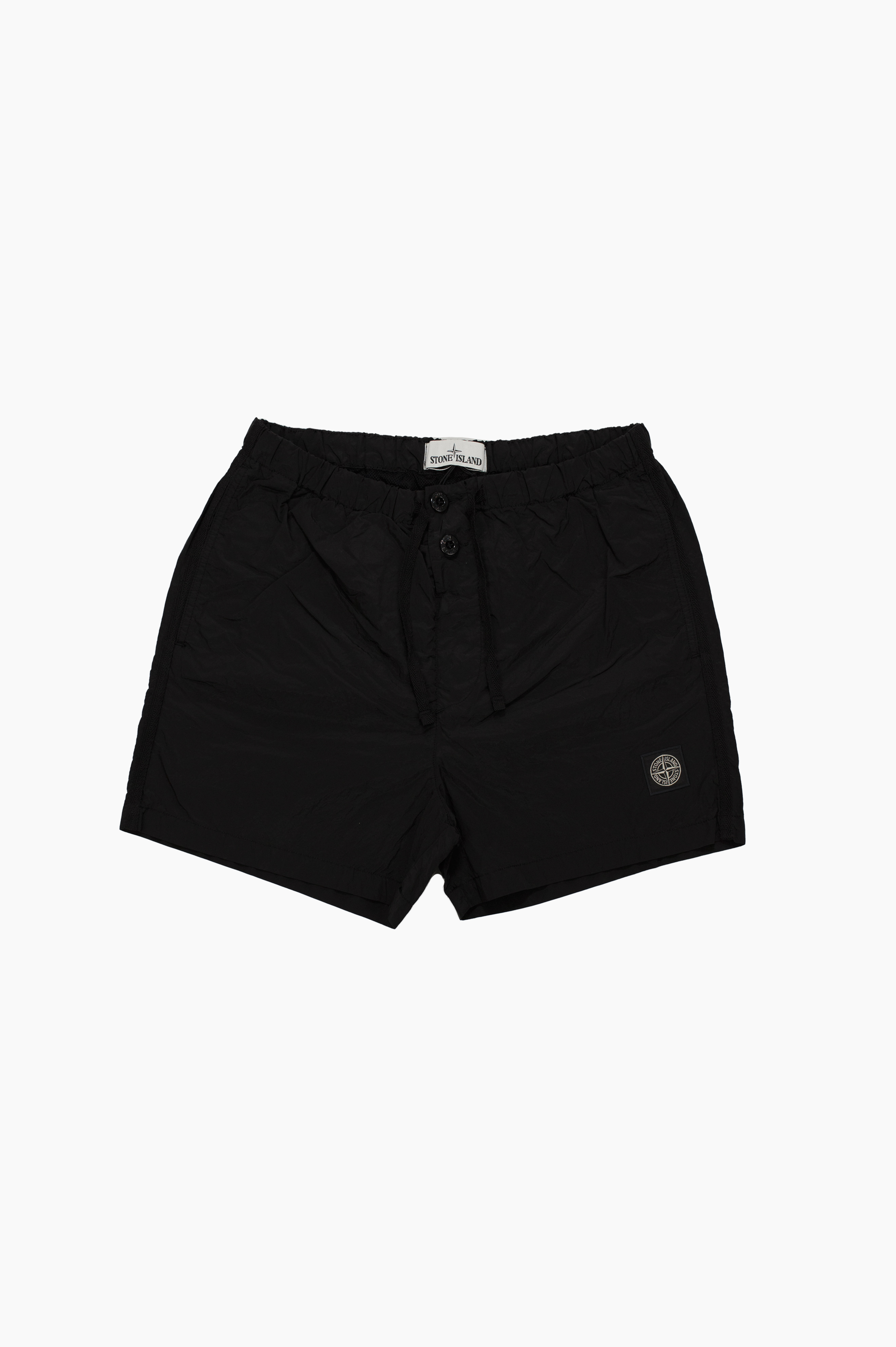 Swim Shorts Nylon Metal Black