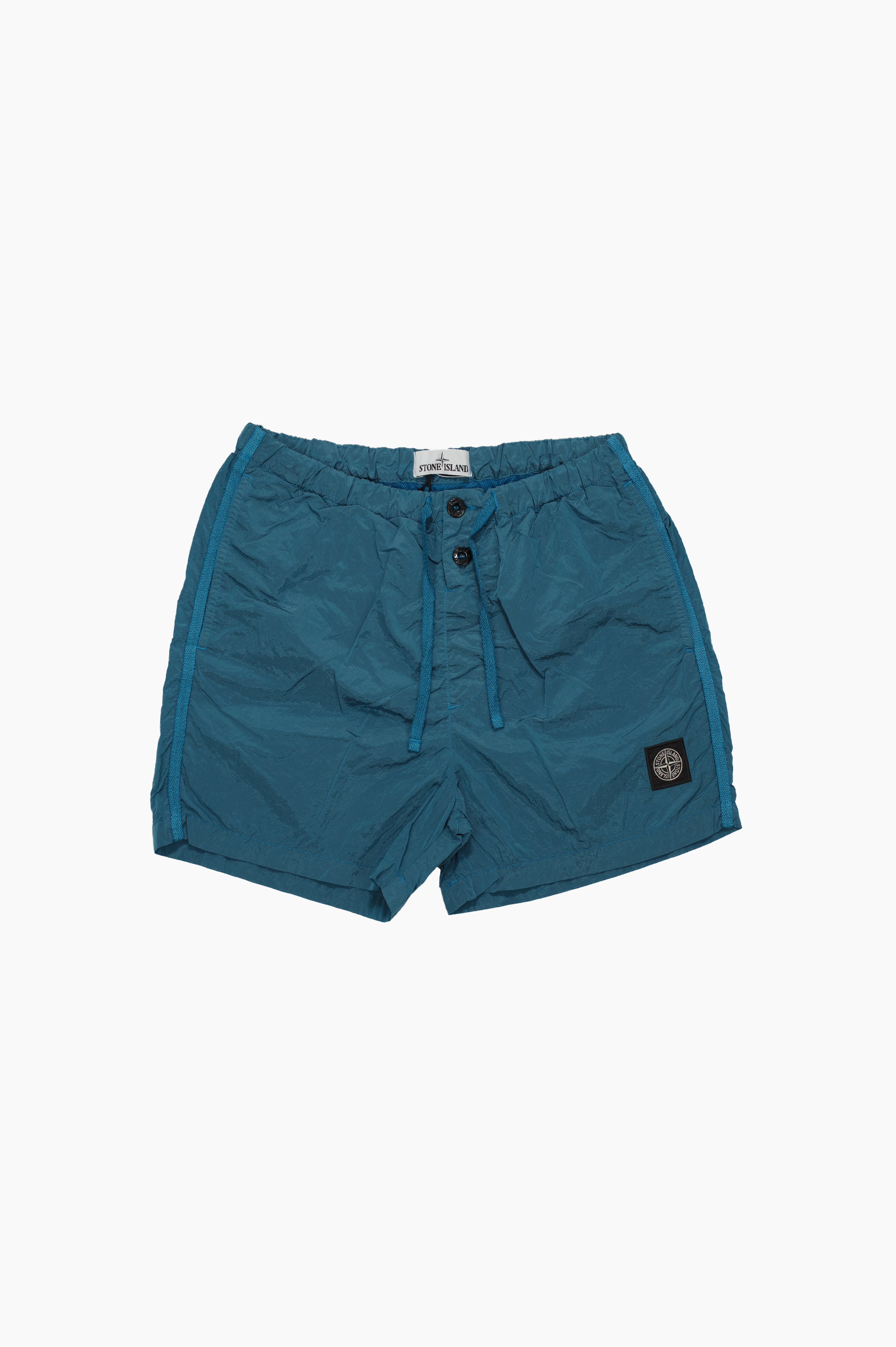 Swim Shorts Nylon Metal Turquoise