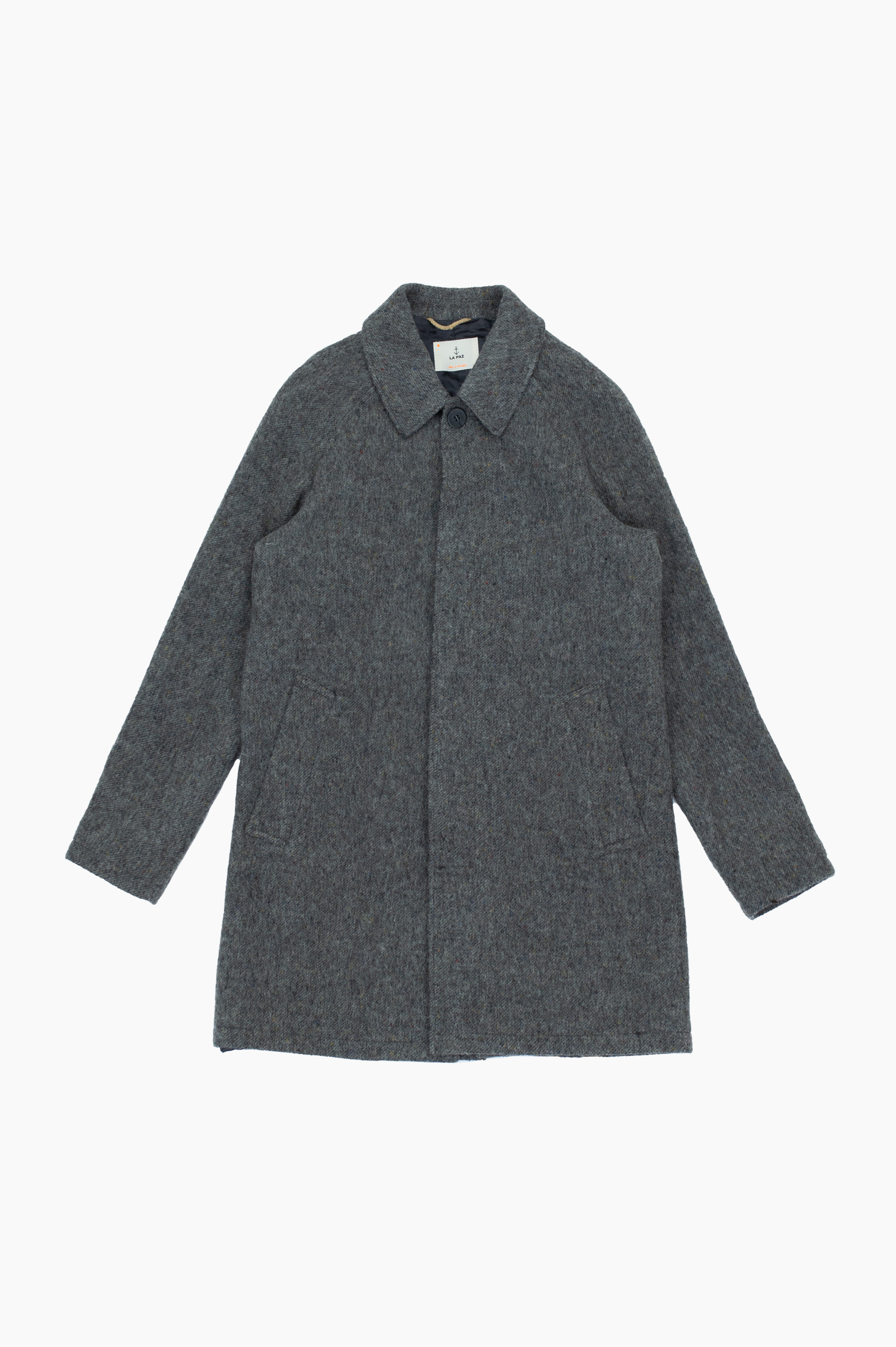 Couto Overcoat Grey Mesc