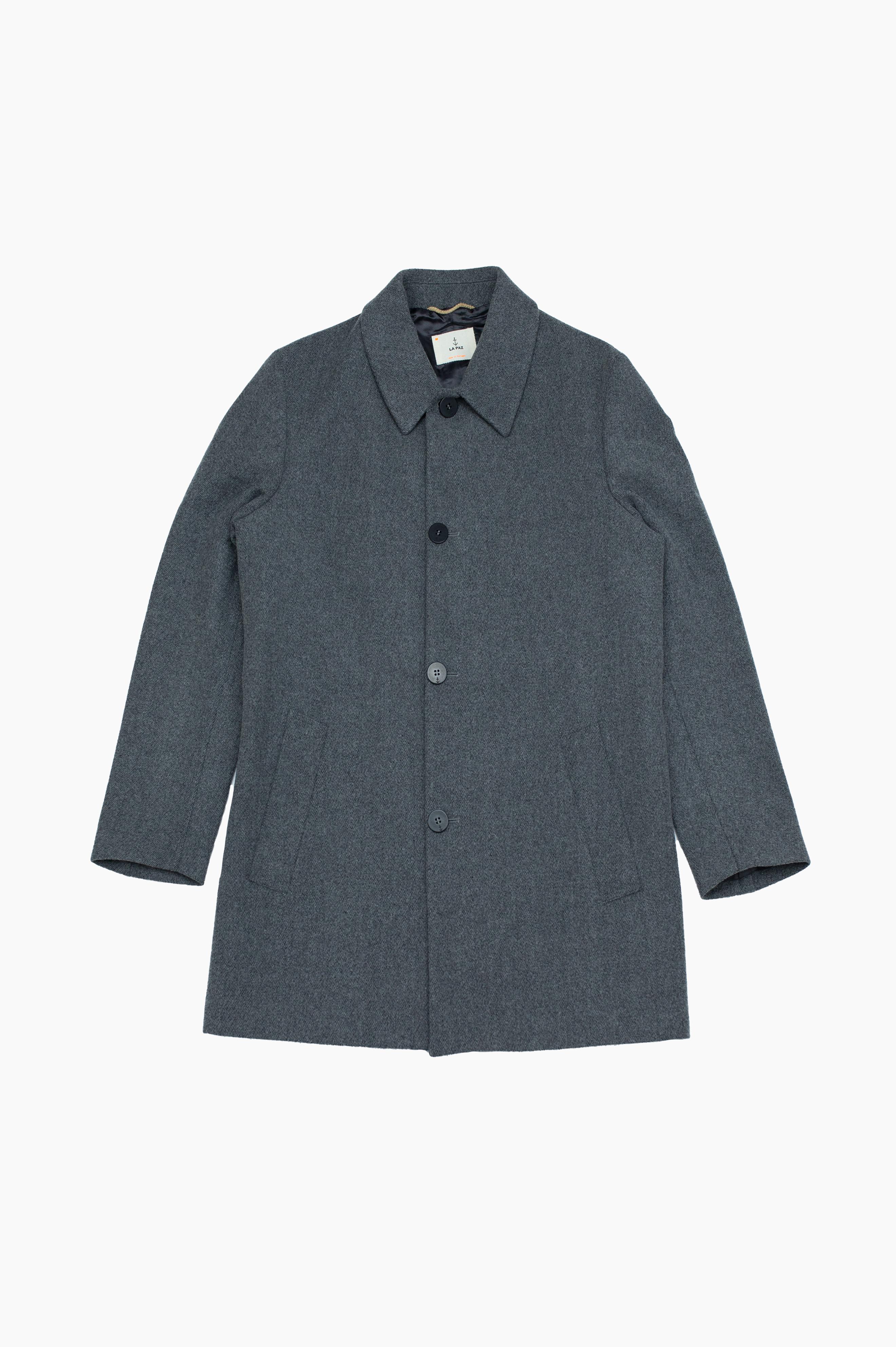 Heavey Overcoat Grey Mesc