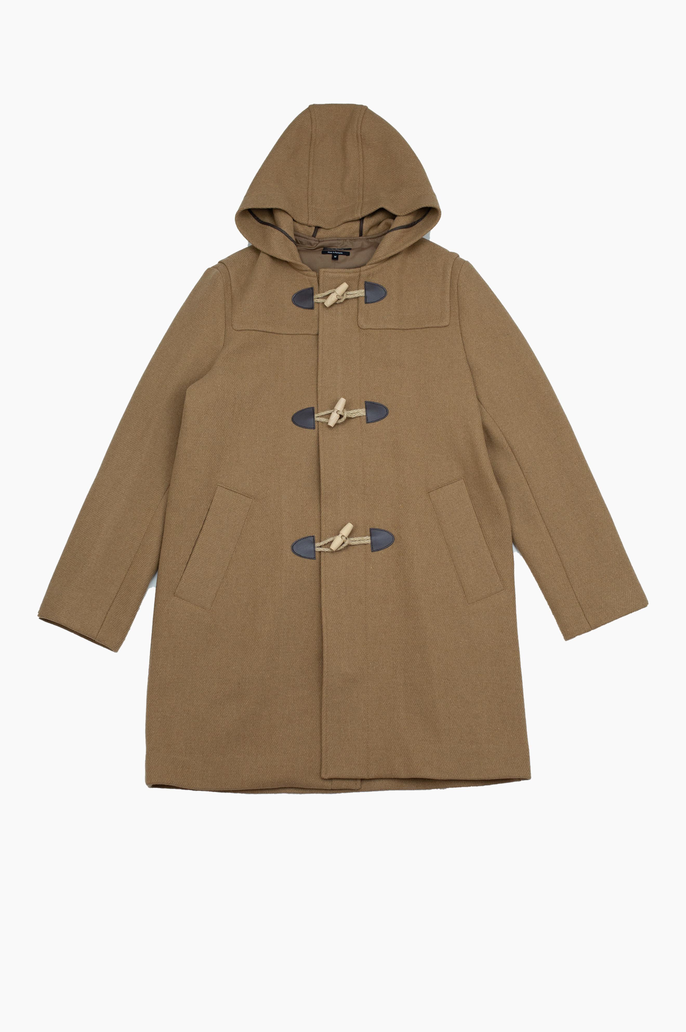 Edouard Duffle Coat Camel