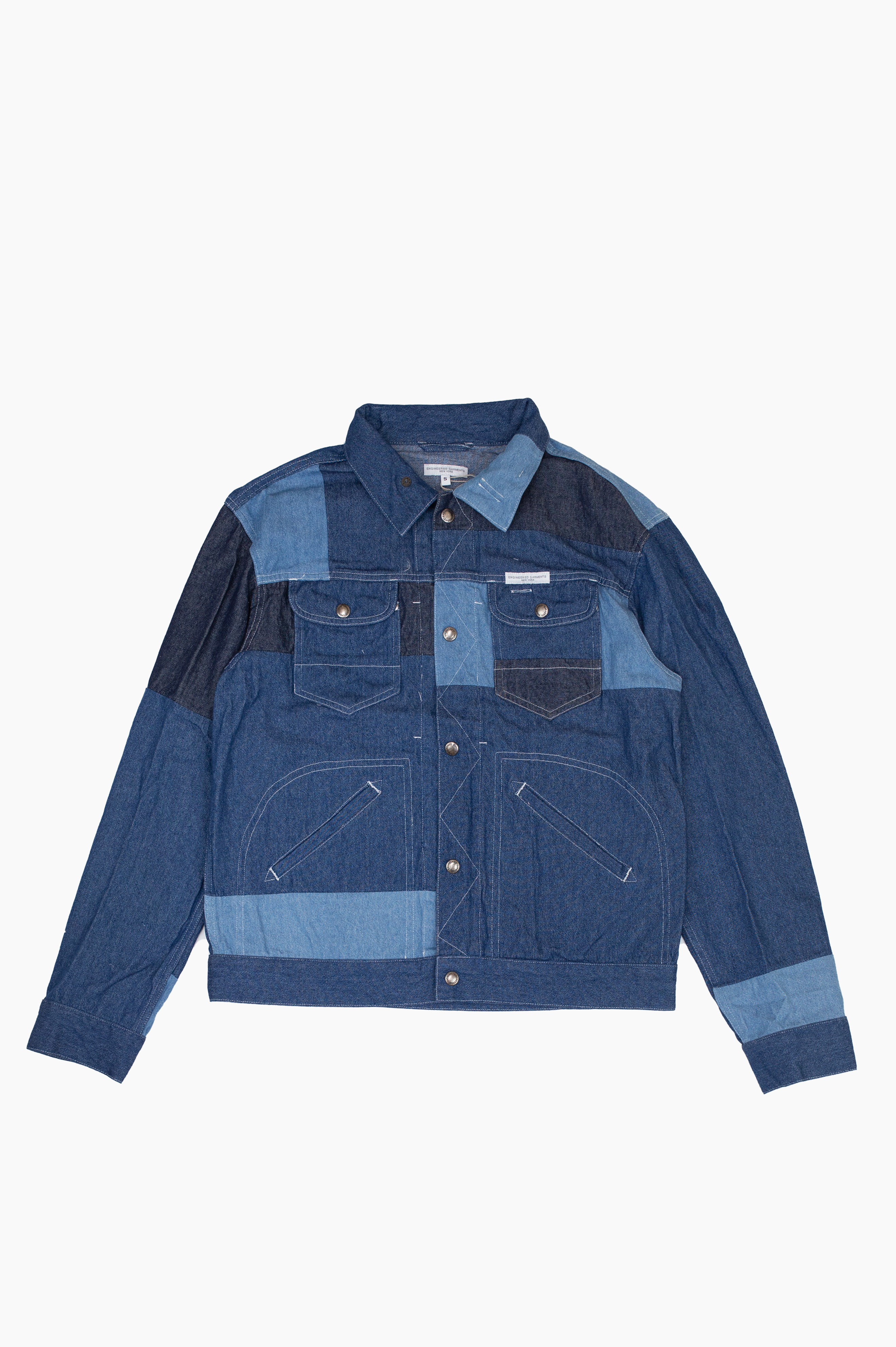 Trucker Jacket Indigo Denim