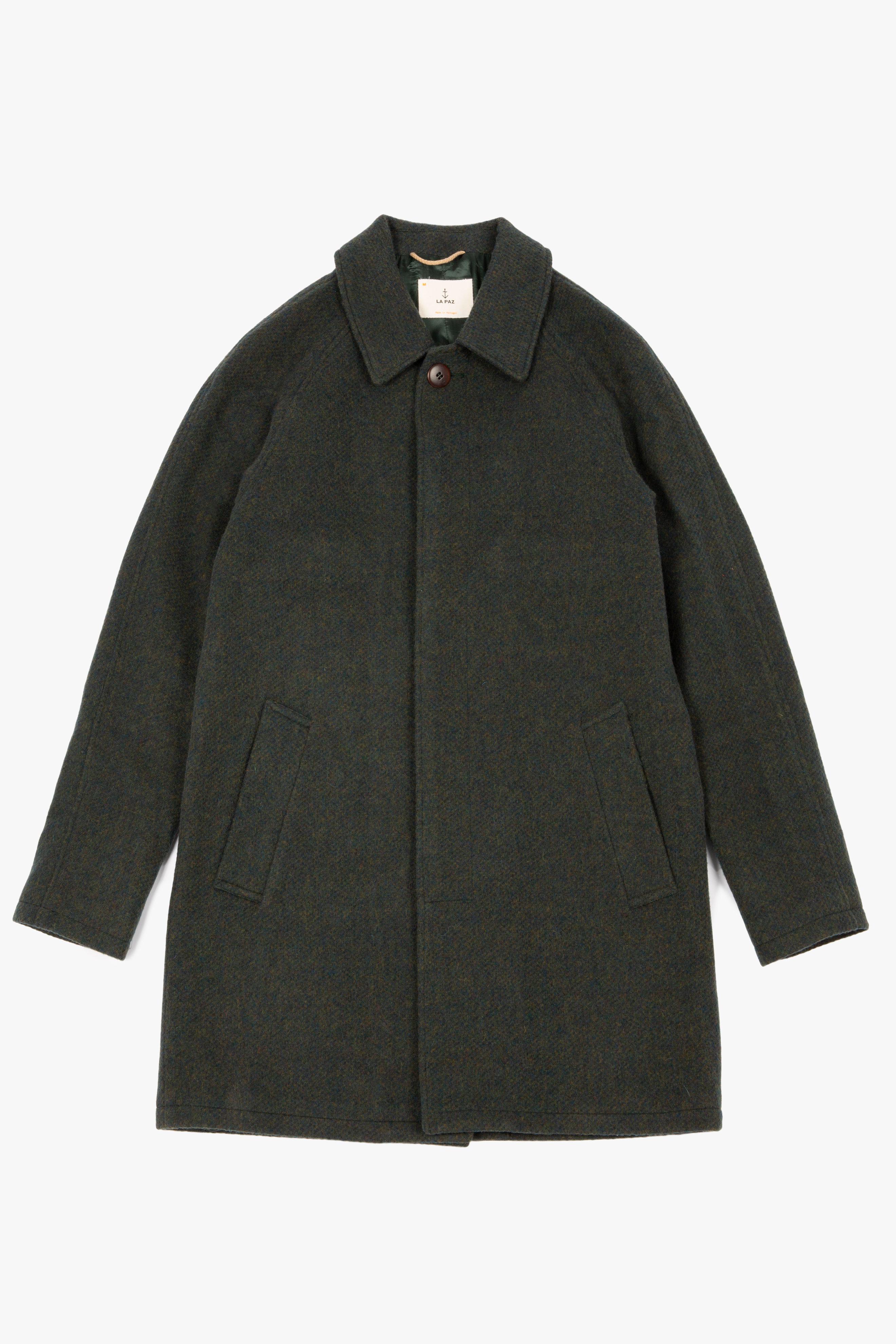 Couto Overcoat Green Mesc
