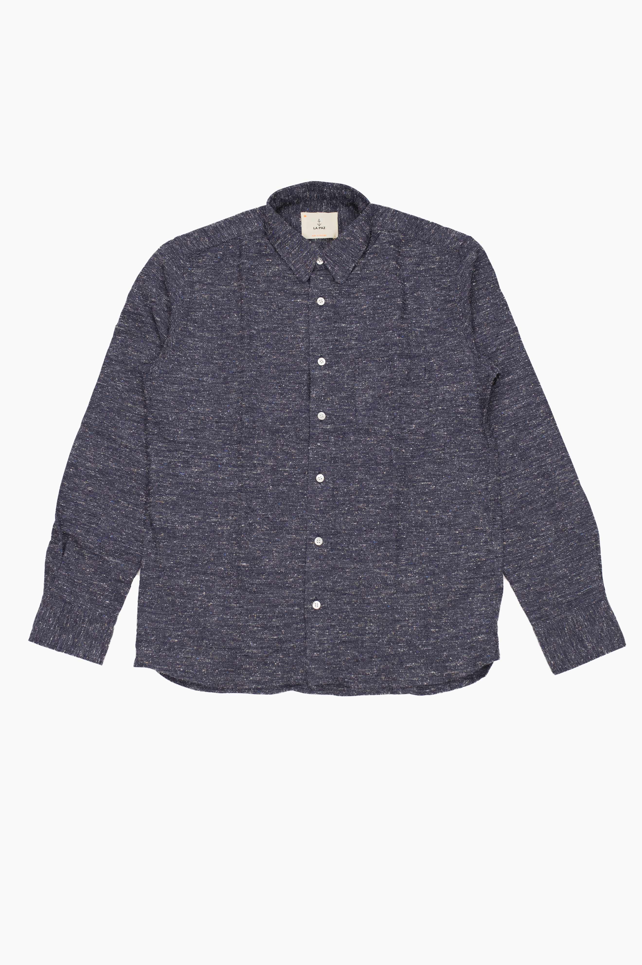 Lopes Shirt Blue Navy Mesc