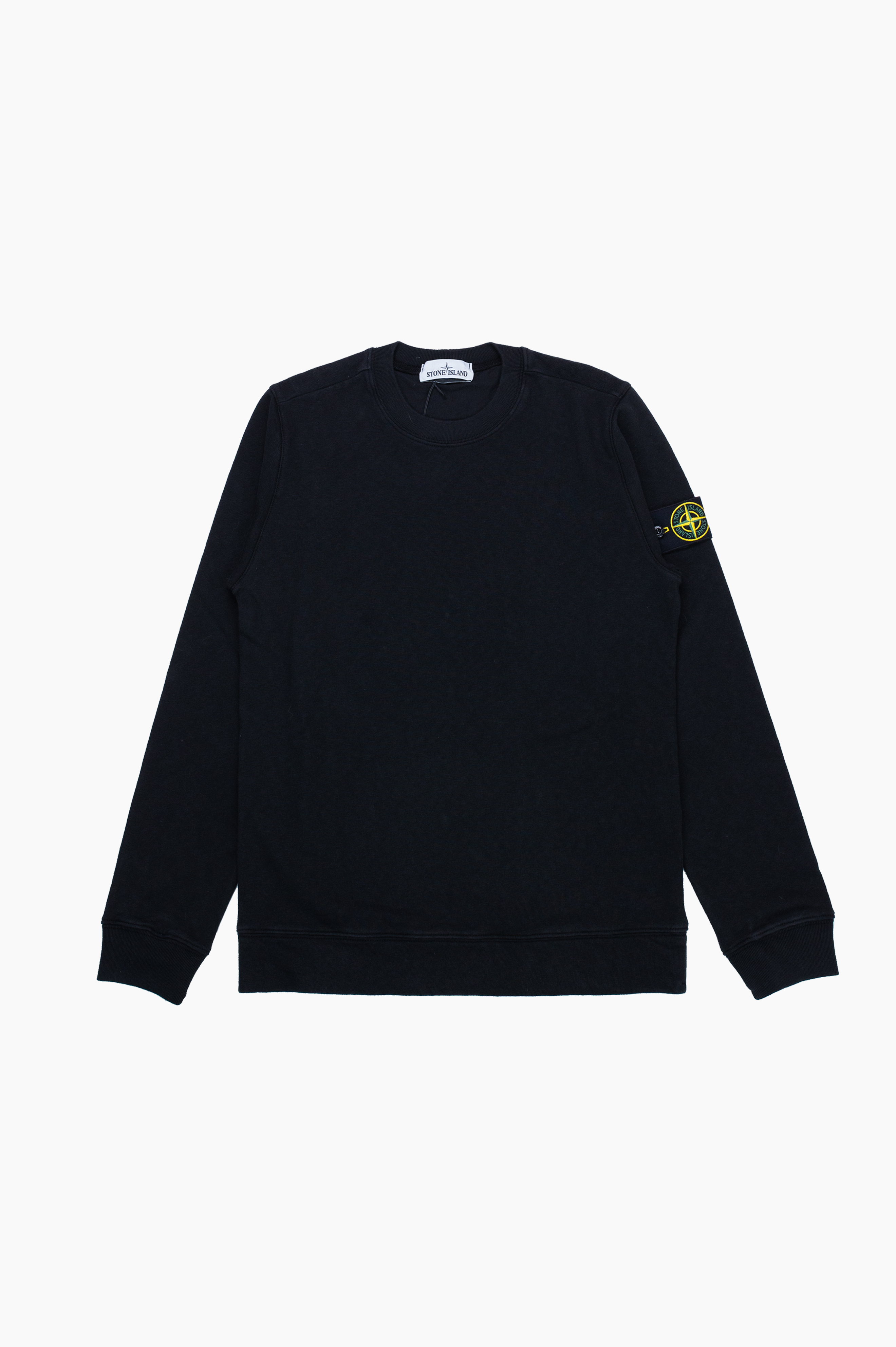 'Old' Dye Treatment Sweatshirt Black