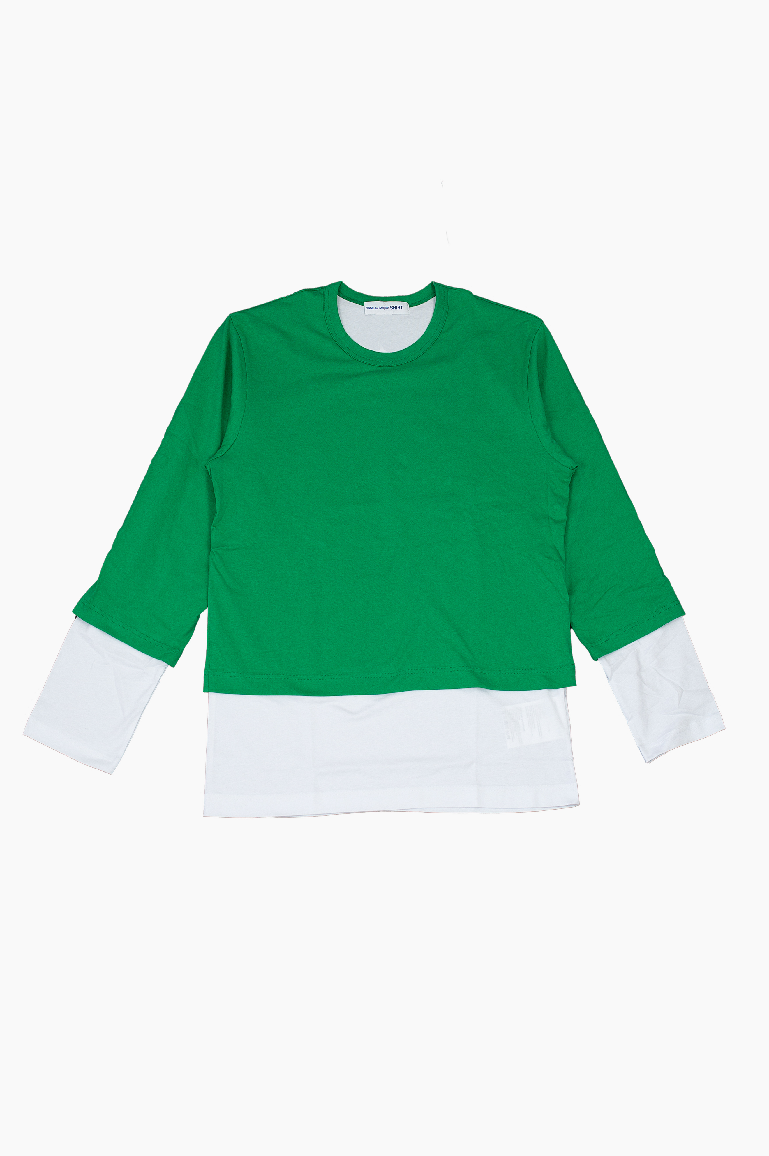 Layered Long Sleeve Green
